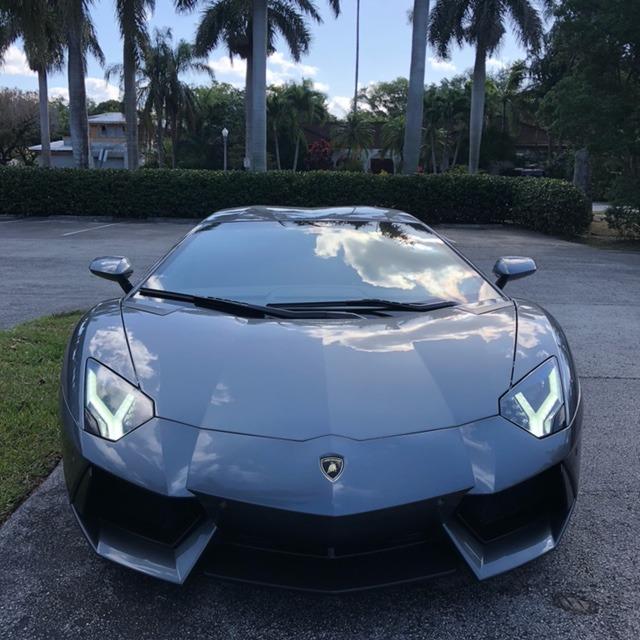 Used 2012 Lamborghini Aventador LP 700-4 for sale Call for price at The Gables Sports Cars in Miami FL 33146 3