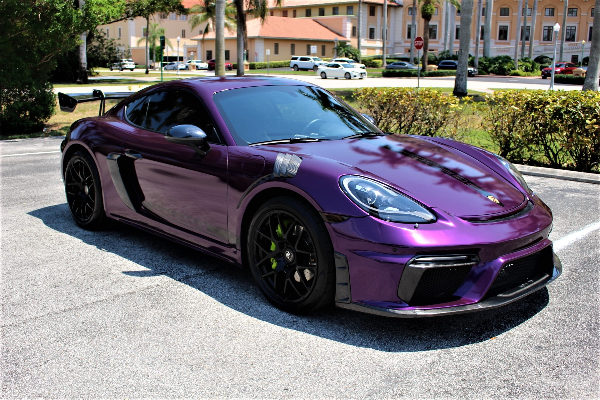 Used 2017 Porsche 718 Cayman S for sale Sold at The Gables Sports Cars in Miami FL 33146 2