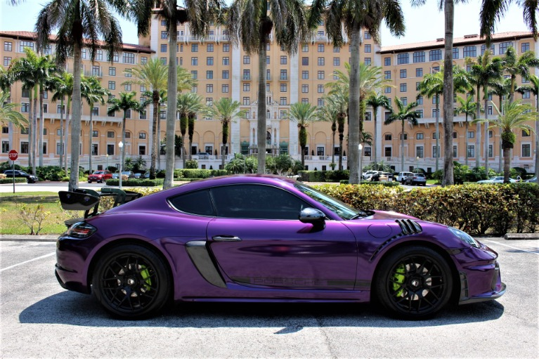 Used 2017 Porsche 718 Cayman S for sale $69,850 at The Gables Sports Cars in Miami FL