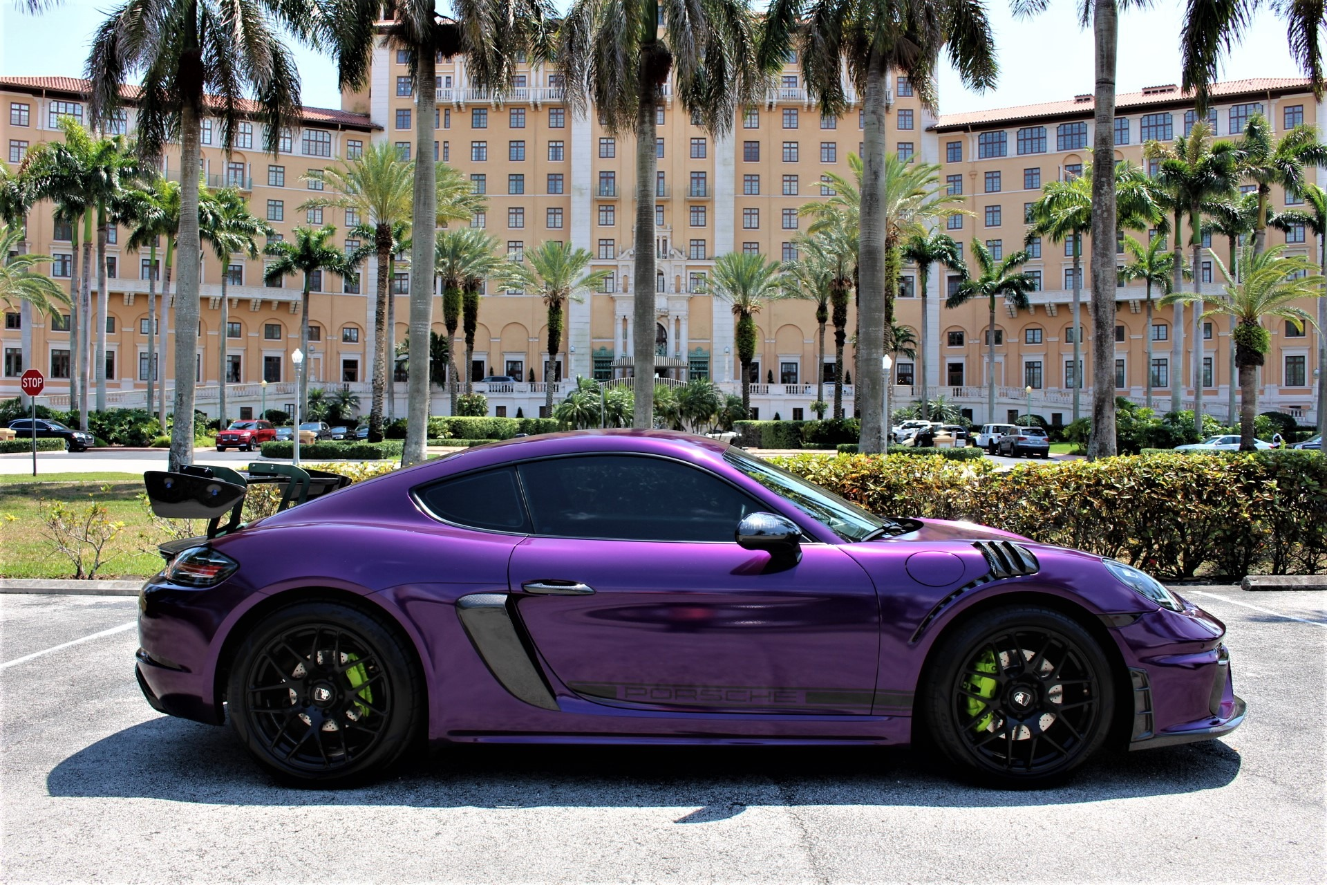 Used 2017 Porsche 718 Cayman S for sale Sold at The Gables Sports Cars in Miami FL 33146 1