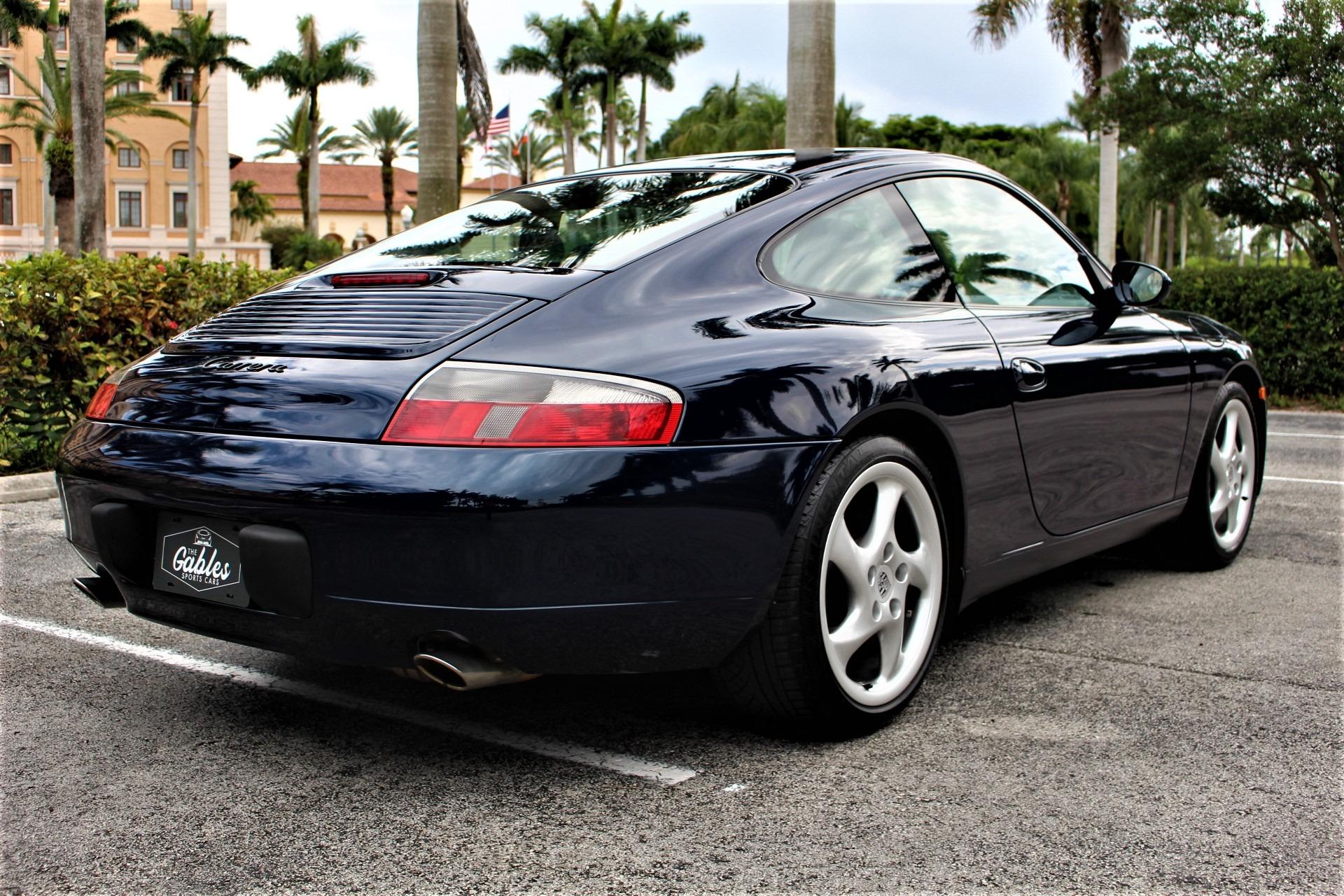 Used 2000 Porsche 911 Carrera for sale $39,850 at The Gables Sports Cars in Miami FL 33146 4