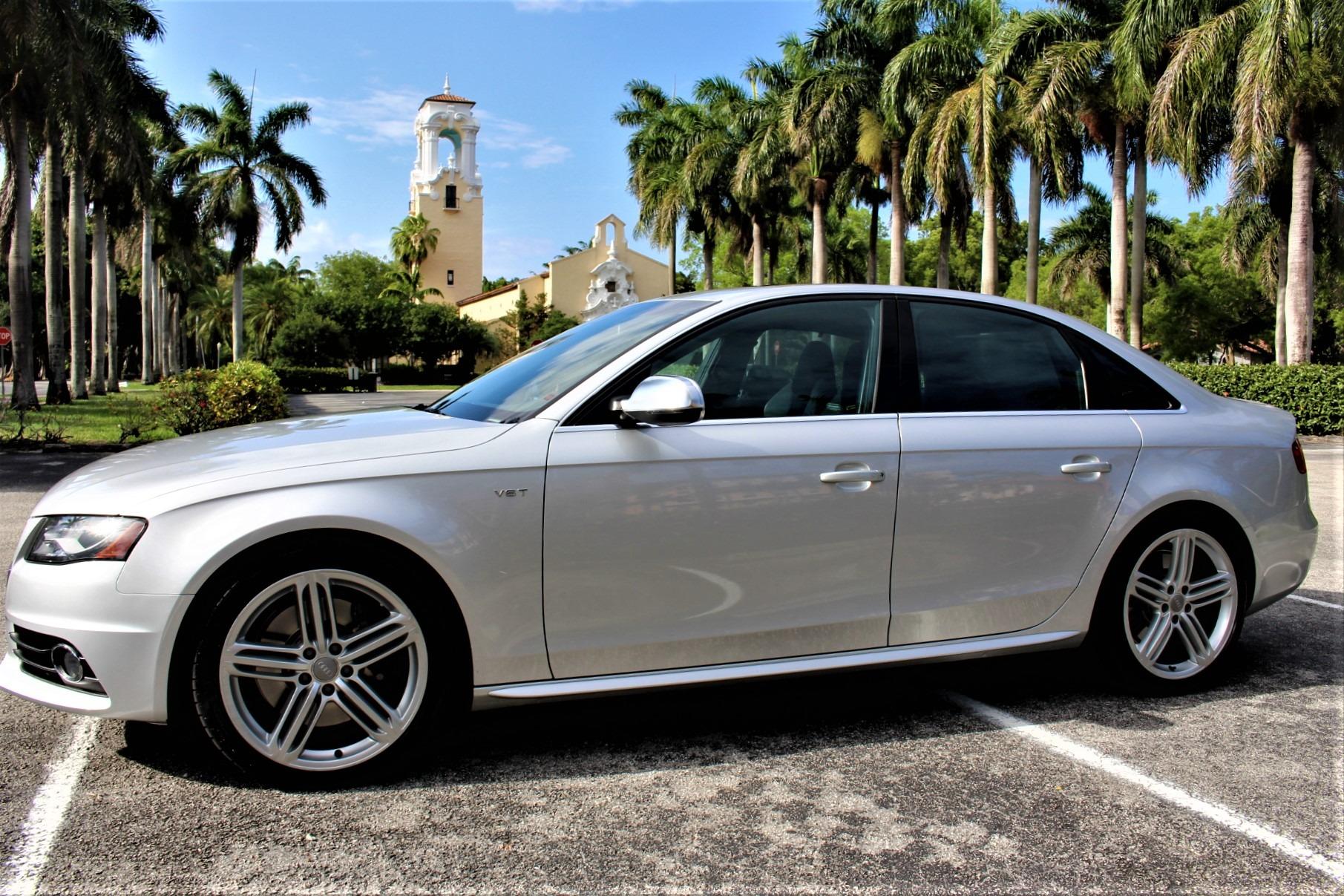 Used 2012 Audi S4 3.0T quattro Prestige for sale $29,850 at The Gables Sports Cars in Miami FL 33146 3