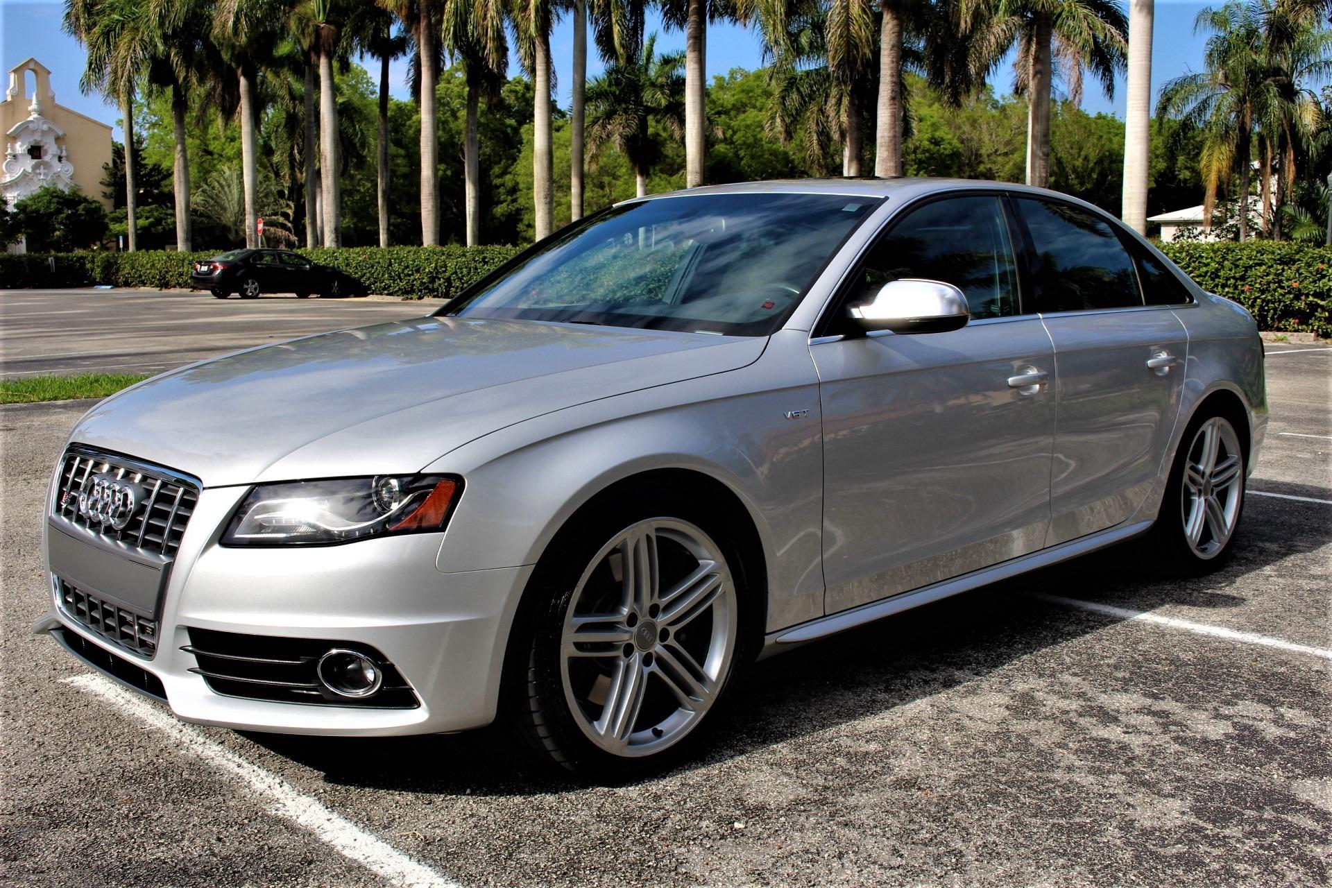 Used 2012 Audi S4 3.0T quattro Prestige for sale $29,850 at The Gables Sports Cars in Miami FL 33146 4