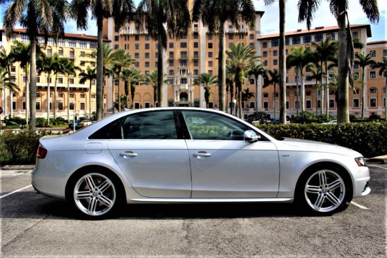 Used 2012 Audi S4 3.0T quattro Prestige for sale $29,850 at The Gables Sports Cars in Miami FL