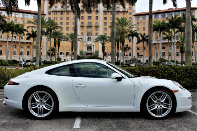 Used 2013 Porsche 911 Carrera for sale $79,850 at The Gables Sports Cars in Miami FL