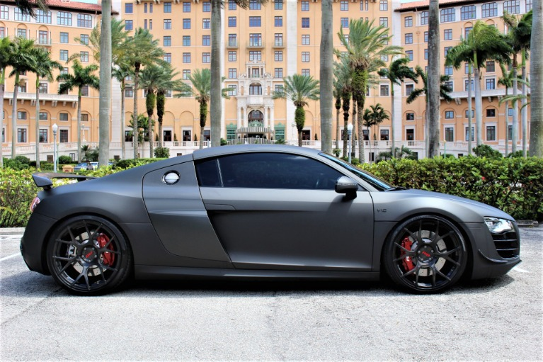 Used 2012 Audi R8 5.2 quattro for sale $99,850 at The Gables Sports Cars in Miami FL