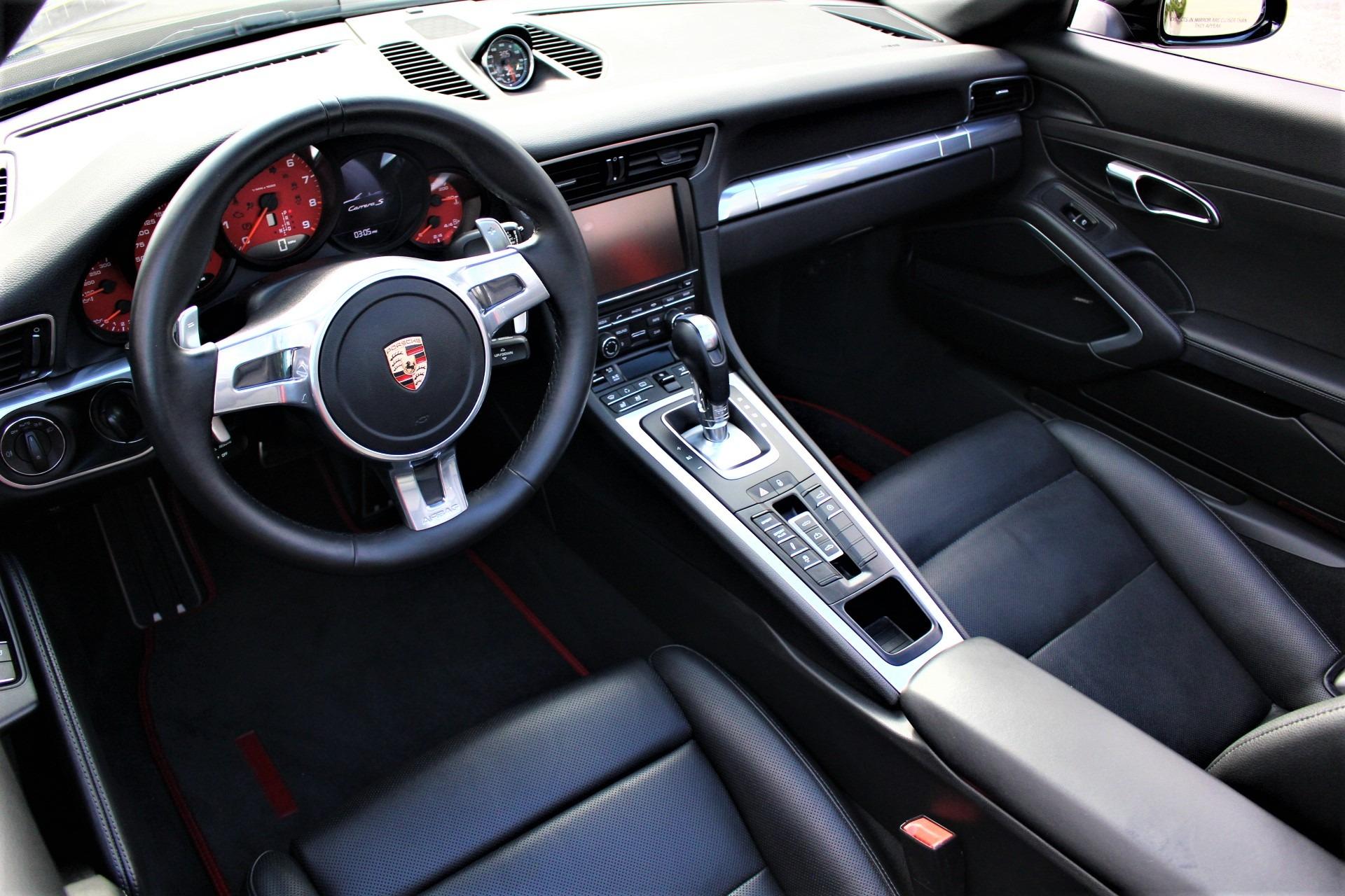 Used 2013 Porsche 911 Carrera S for sale $85,850 at The Gables Sports Cars in Miami FL 33146 4