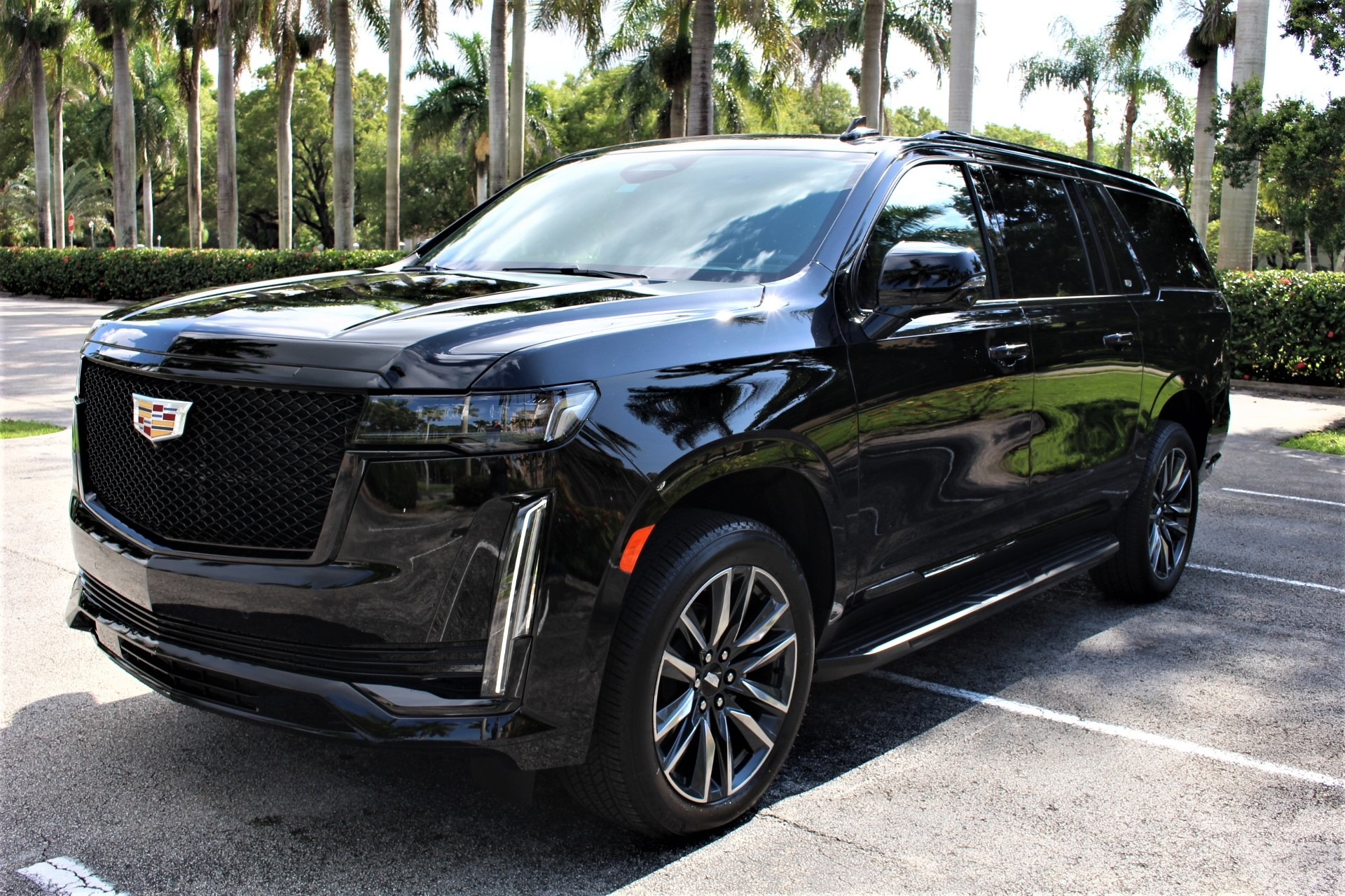 Used 2021 Cadillac Escalade ESV Sport for sale Sold at The Gables Sports Cars in Miami FL 33146 3