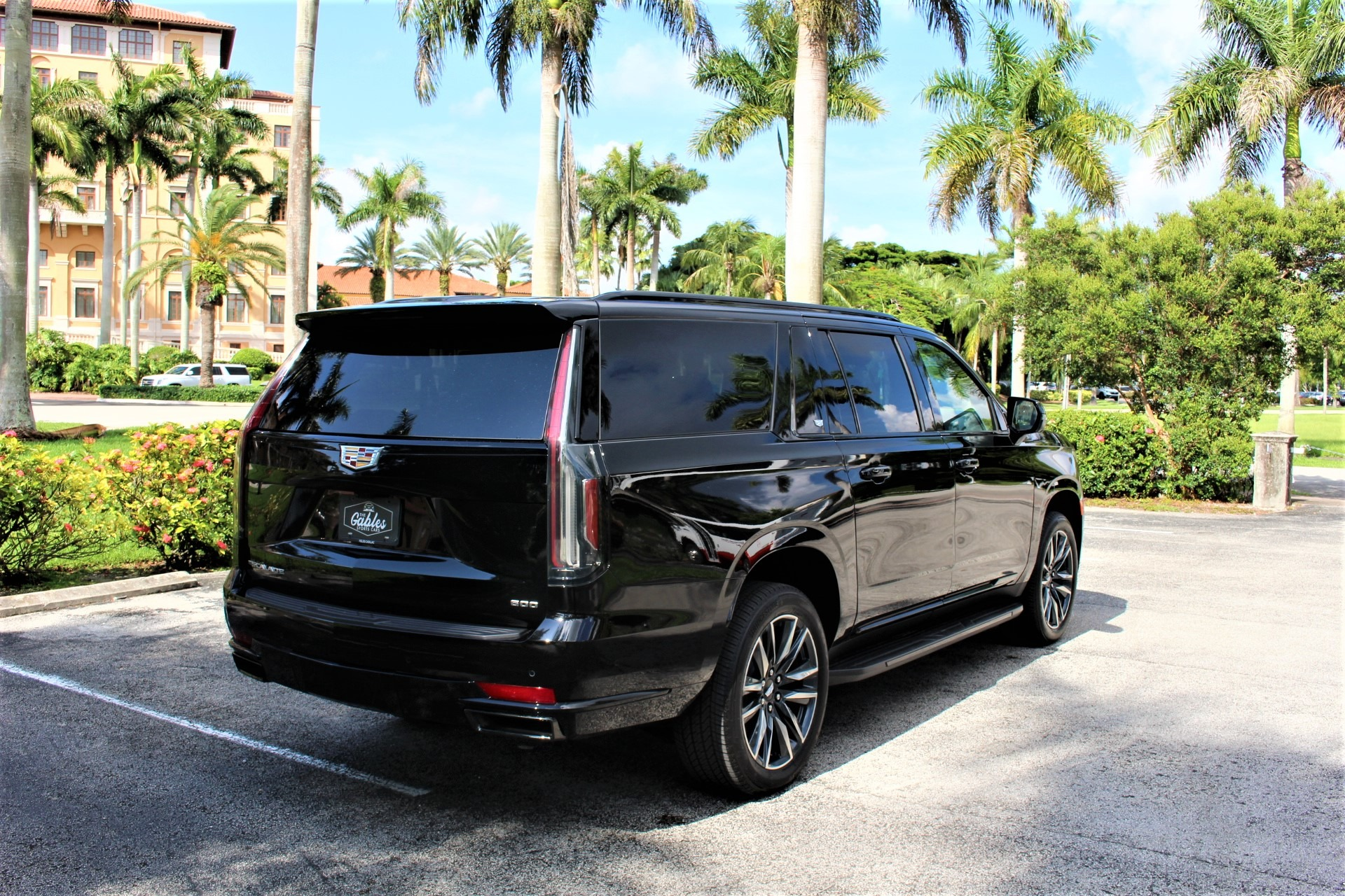 Used 2021 Cadillac Escalade ESV Sport for sale Sold at The Gables Sports Cars in Miami FL 33146 4