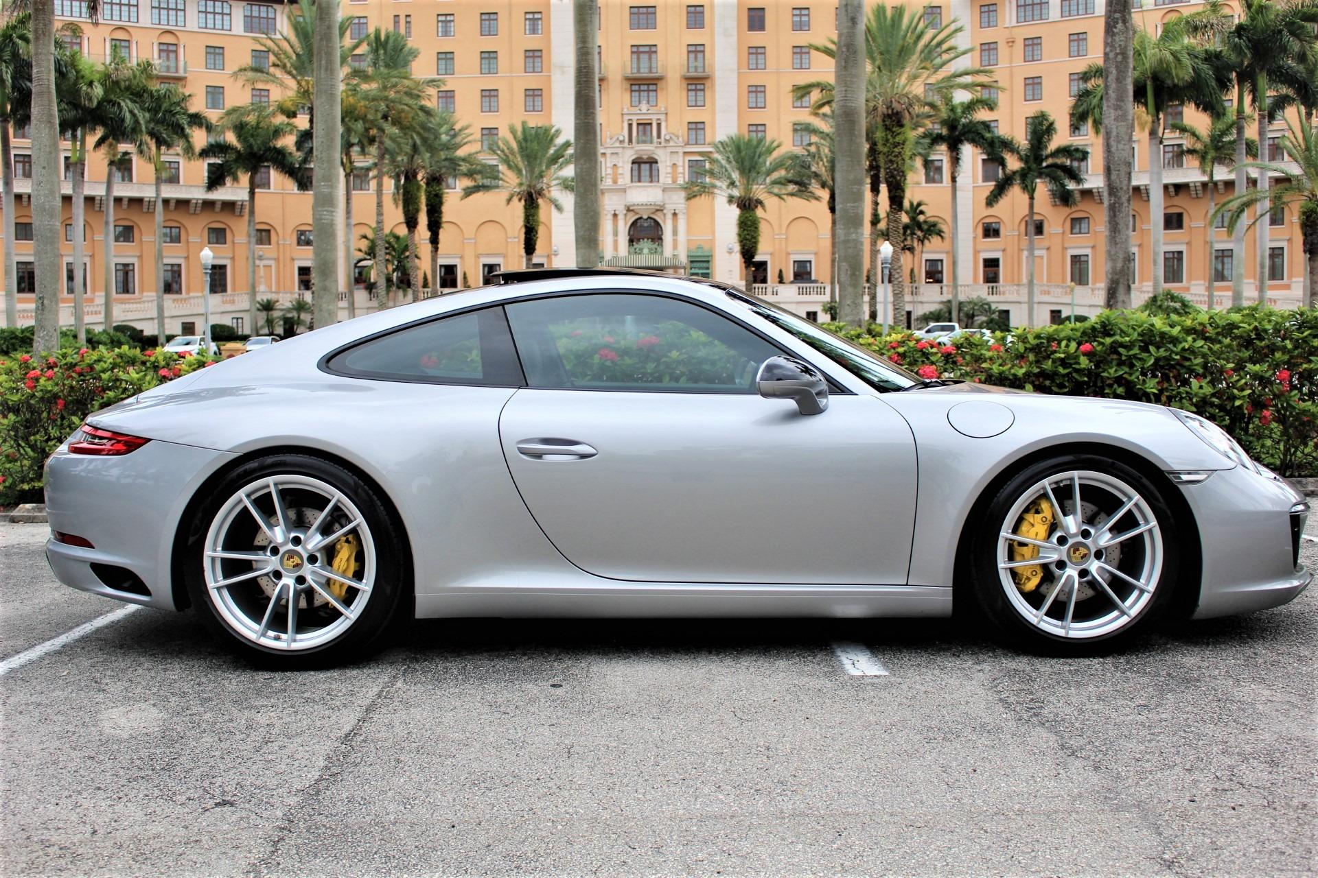 Used 2017 Porsche 911 Carrera for sale $85,850 at The Gables Sports Cars in Miami FL 33146 1