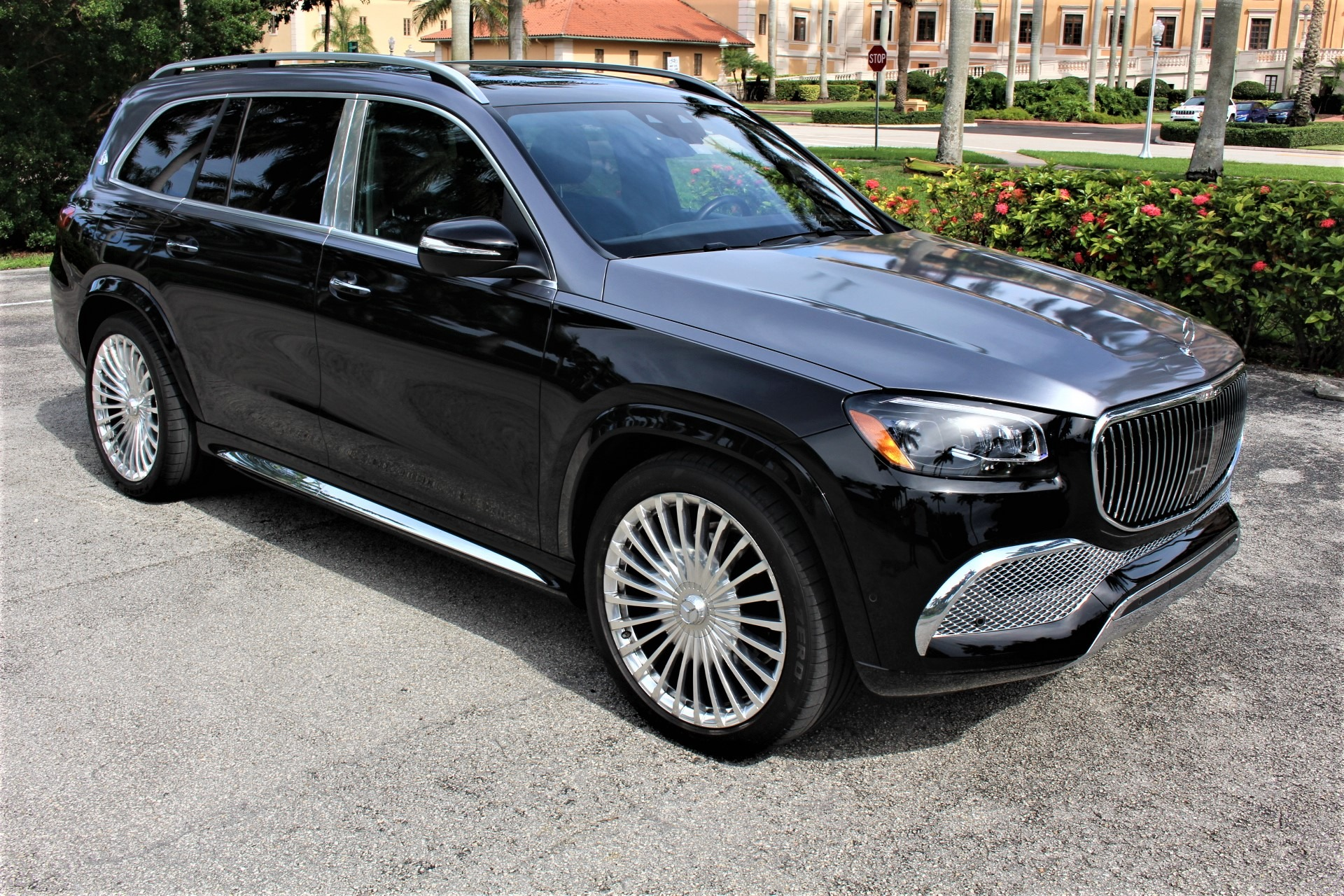 Used 2021 Mercedes-Benz GLS Mercedes-Maybach GLS 600 4MATIC for sale $234,850 at The Gables Sports Cars in Miami FL 33146 4