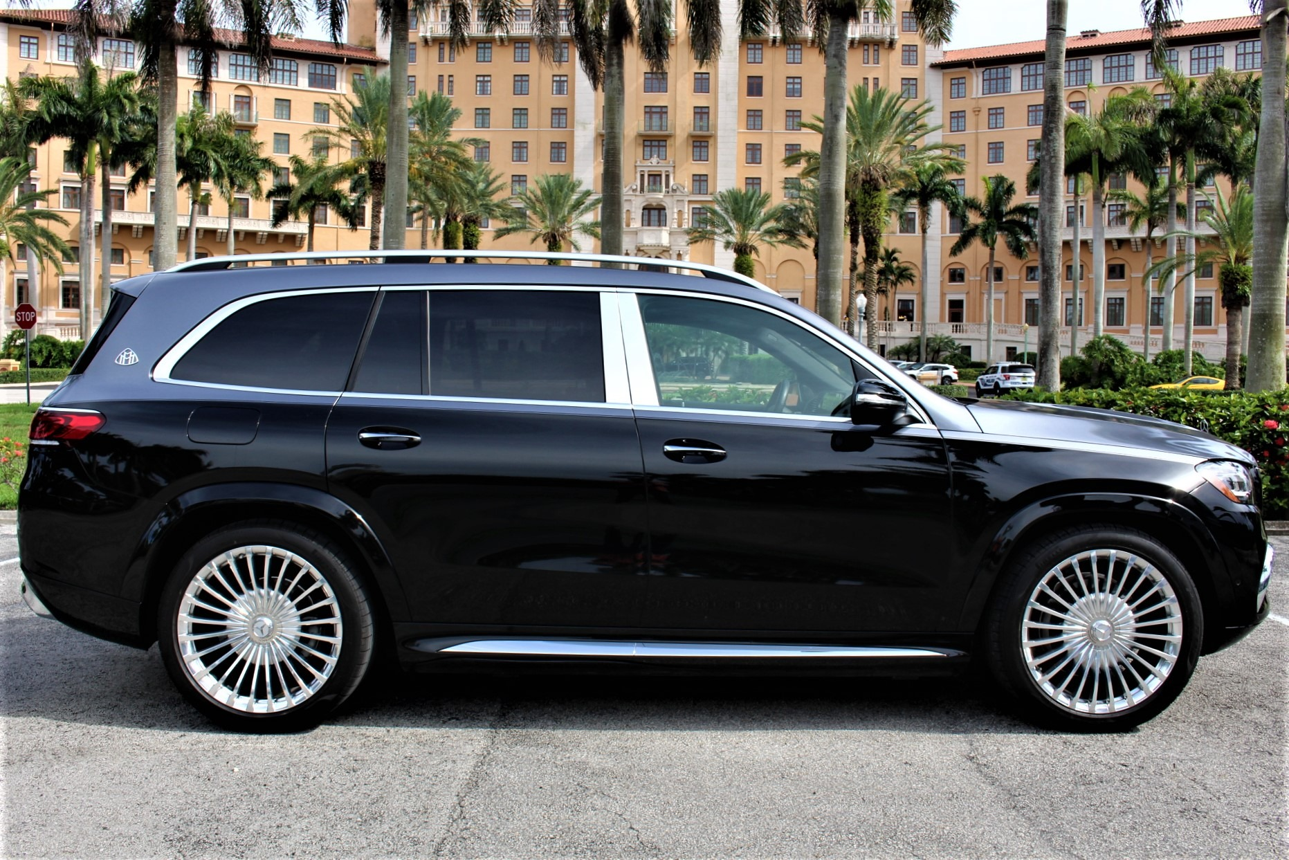 Used 2021 Mercedes-Benz GLS Mercedes-Maybach GLS 600 4MATIC for sale $234,850 at The Gables Sports Cars in Miami FL 33146 1