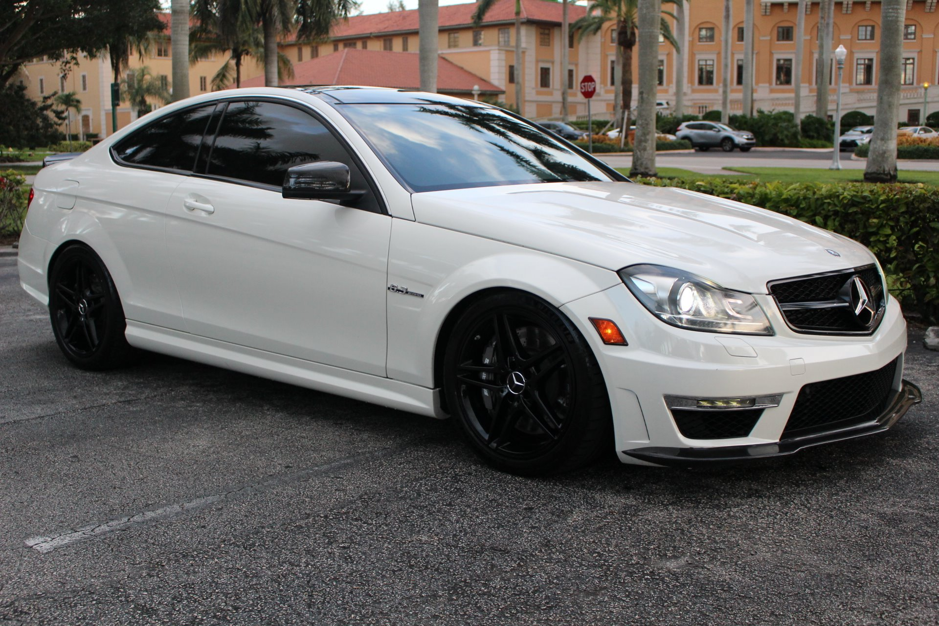 Used 2014 Mercedes-Benz C-Class C 63 AMG for sale Sold at The Gables Sports Cars in Miami FL 33146 3