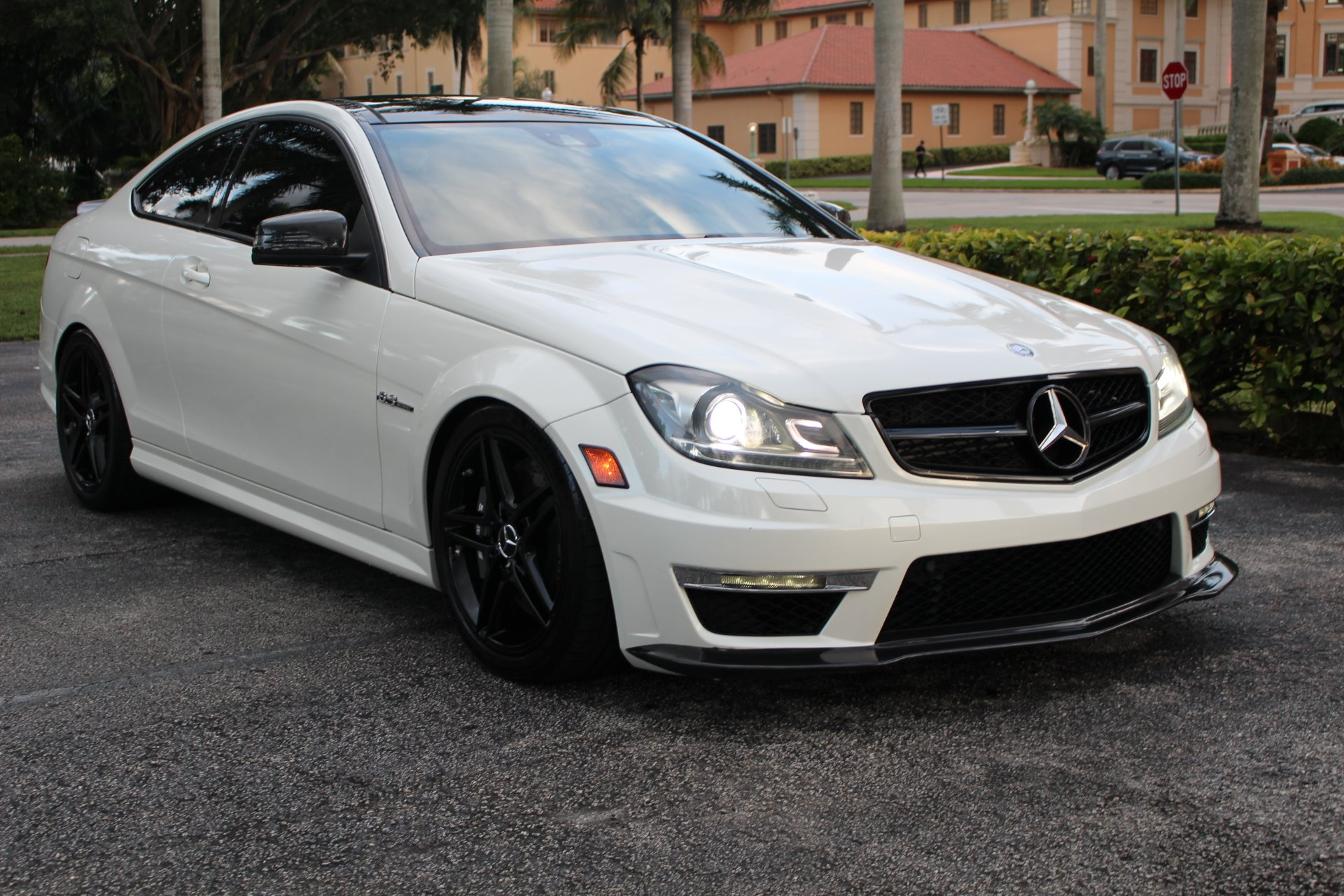 Used 2014 Mercedes-Benz C-Class C 63 AMG for sale Sold at The Gables Sports Cars in Miami FL 33146 4