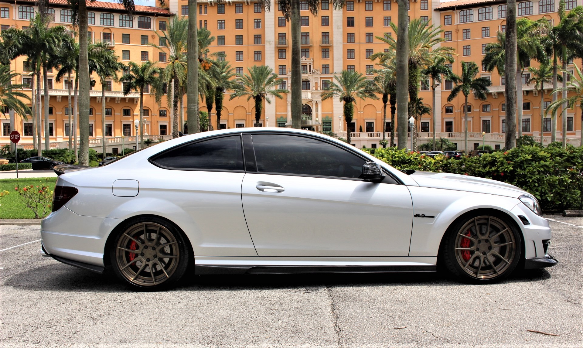 Used 2015 Mercedes-Benz C-Class C 63 AMG 507 Edition for sale Sold at The Gables Sports Cars in Miami FL 33146 2