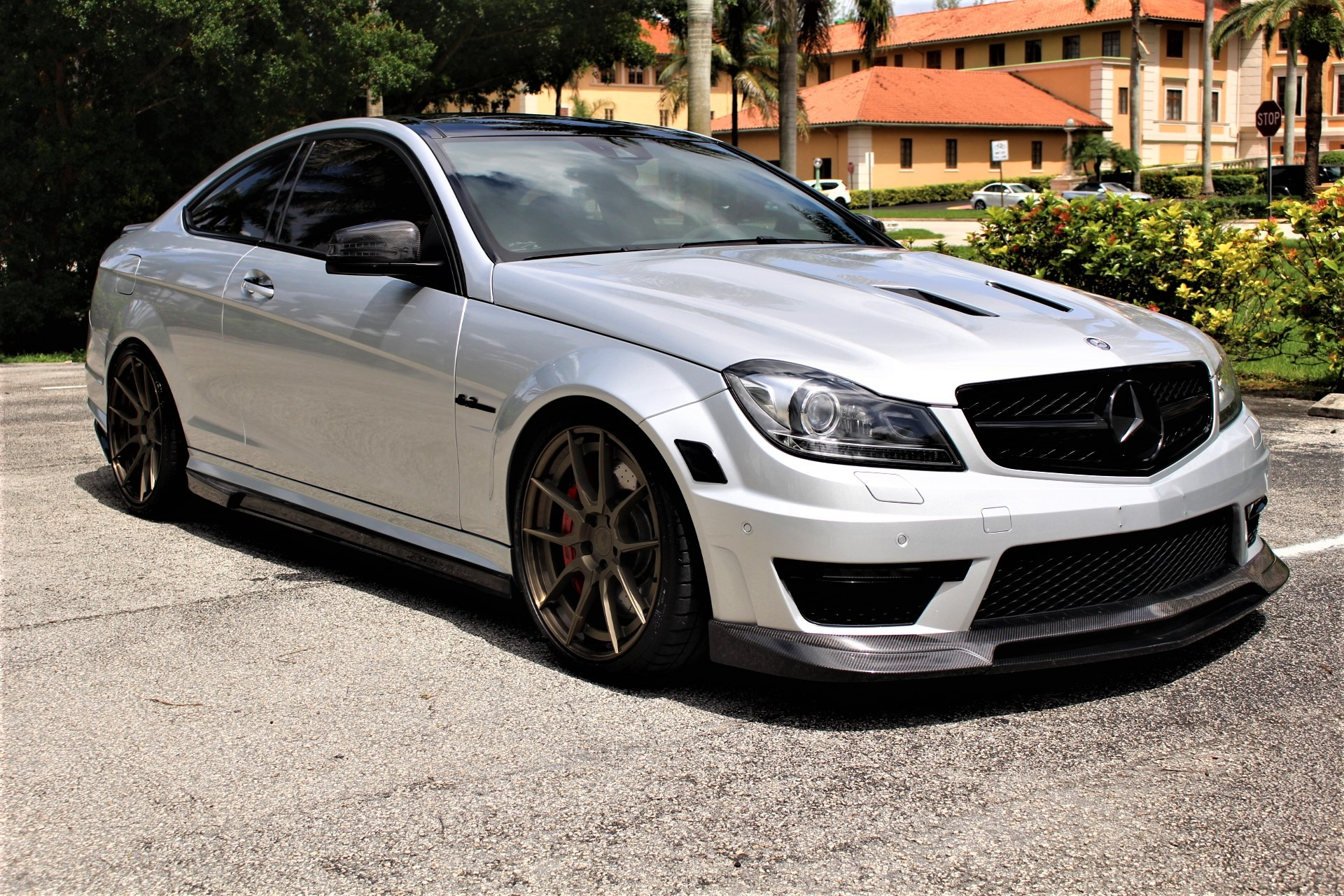 Used 2015 Mercedes-Benz C-Class C 63 AMG 507 Edition for sale Sold at The Gables Sports Cars in Miami FL 33146 3