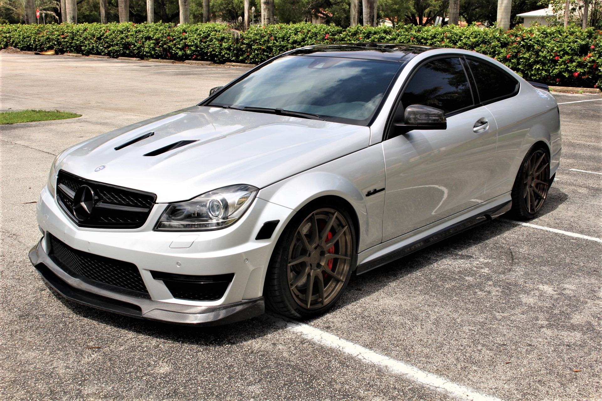 Used 2015 Mercedes-Benz C-Class C 63 AMG 507 Edition for sale Sold at The Gables Sports Cars in Miami FL 33146 4