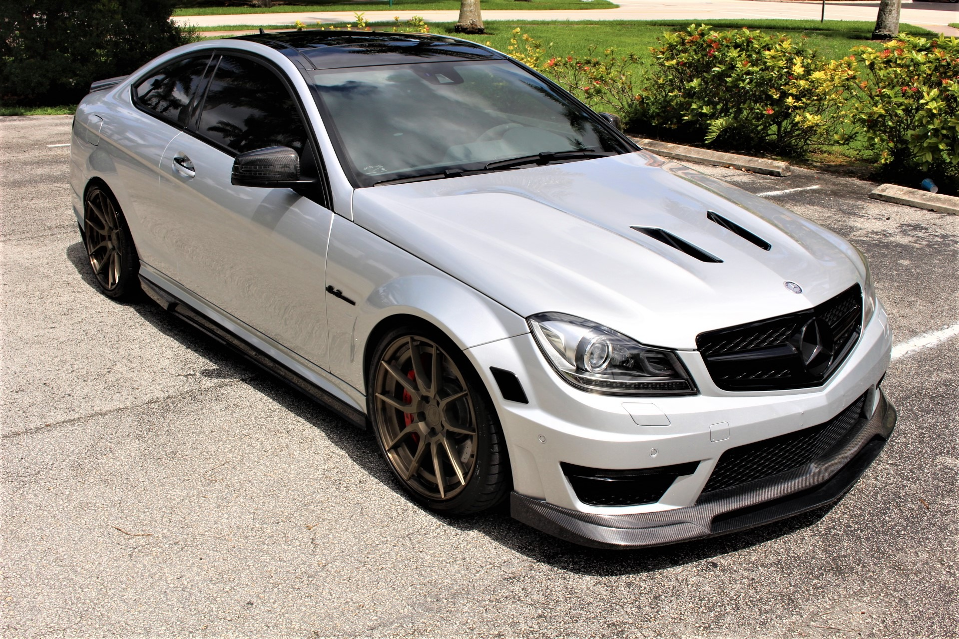 Used 2015 Mercedes-Benz C-Class C 63 AMG 507 Edition for sale Sold at The Gables Sports Cars in Miami FL 33146 1