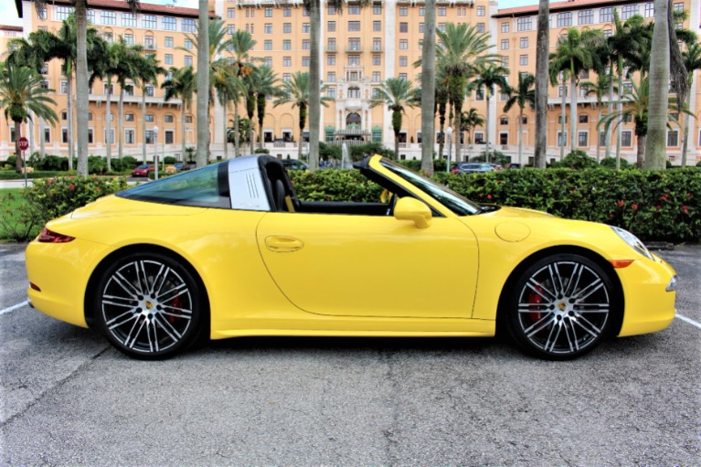 Used 2015 Porsche 911 Targa 4S Exclusive Edition for sale $122,850 at The Gables Sports Cars in Miami FL