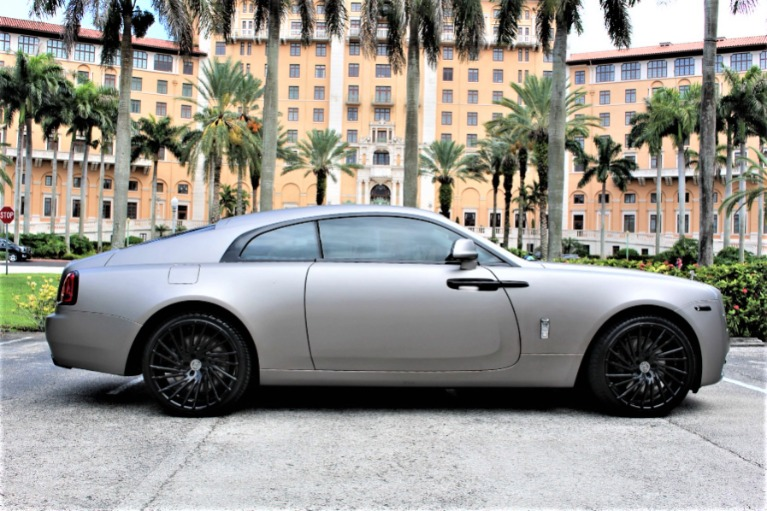 Used 2015 Rolls-Royce Wraith for sale $168,850 at The Gables Sports Cars in Miami FL