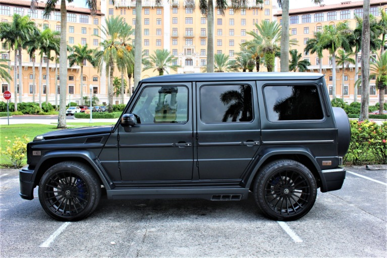 Used 2013 Mercedes-Benz G-Class G 63 AMG HAMANN for sale $108,850 at The Gables Sports Cars in Miami FL