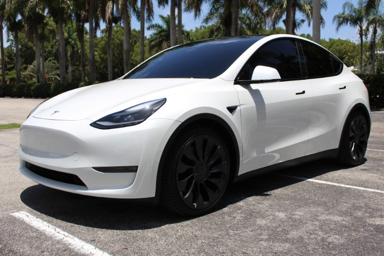 Used 2021 Tesla Model Y Performance for sale $72,850 at The Gables Sports Cars in Miami FL