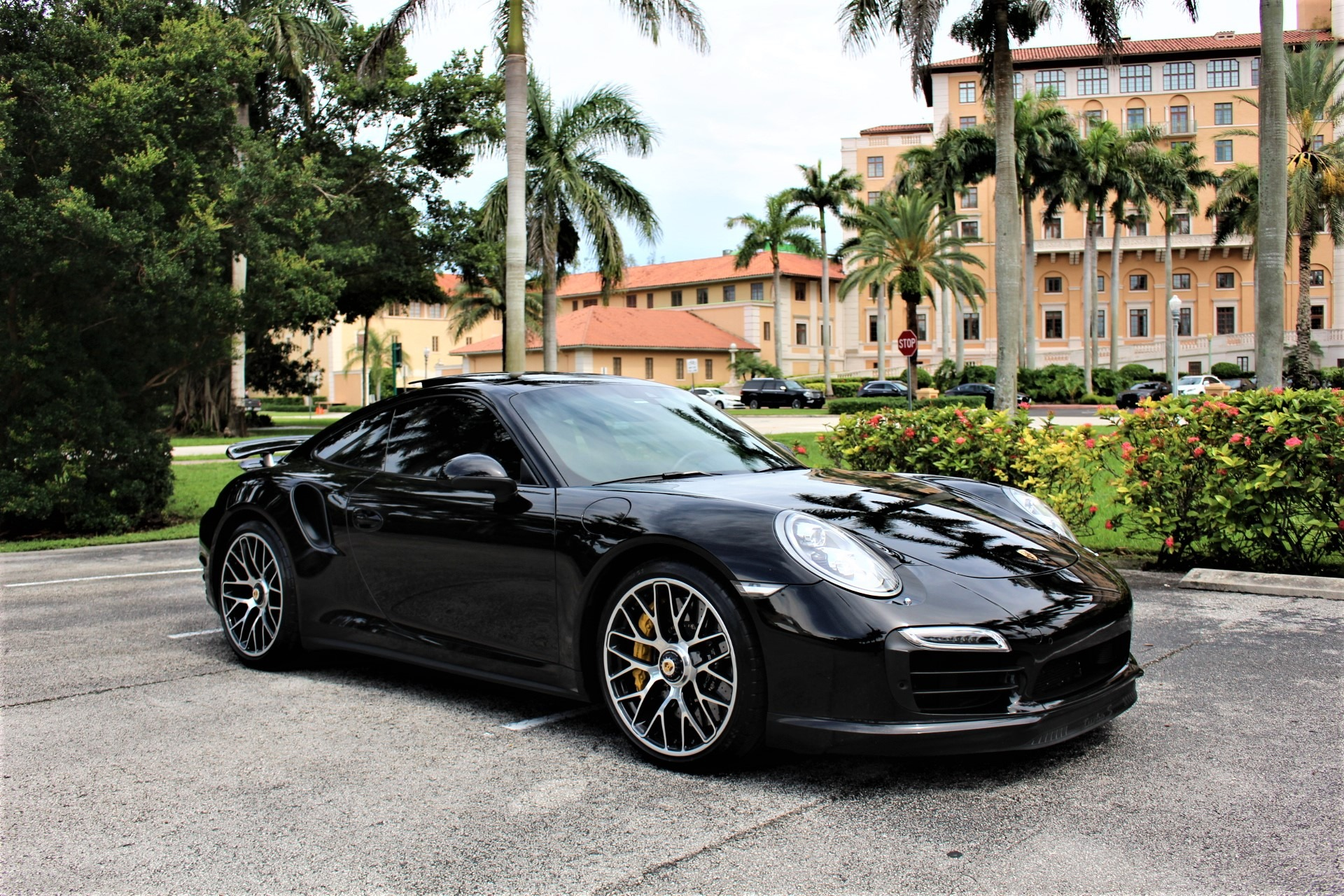Used 2014 Porsche 911 Turbo S for sale $126,850 at The Gables Sports Cars in Miami FL 33146 3