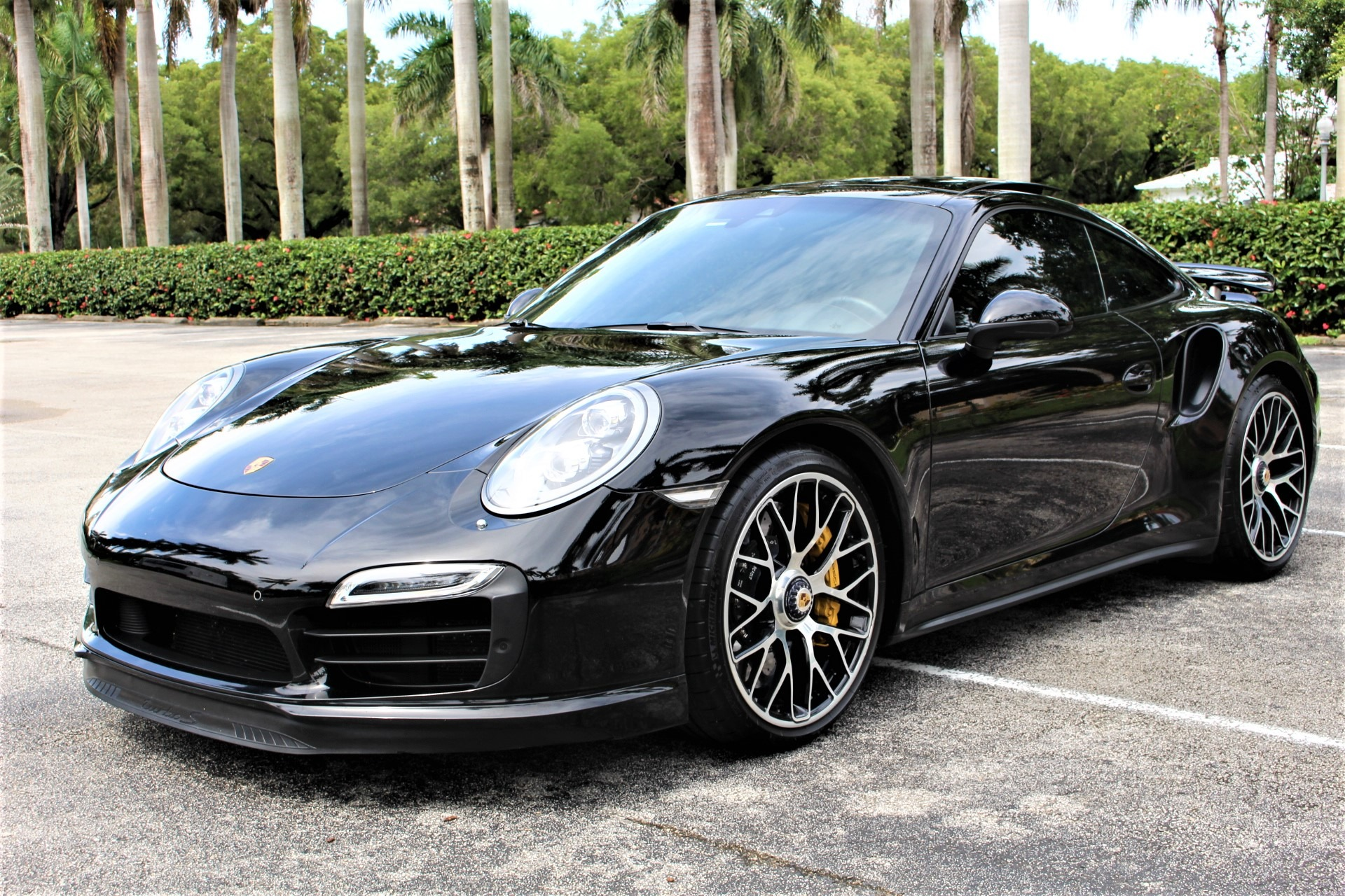 Used 2014 Porsche 911 Turbo S for sale $126,850 at The Gables Sports Cars in Miami FL 33146 4