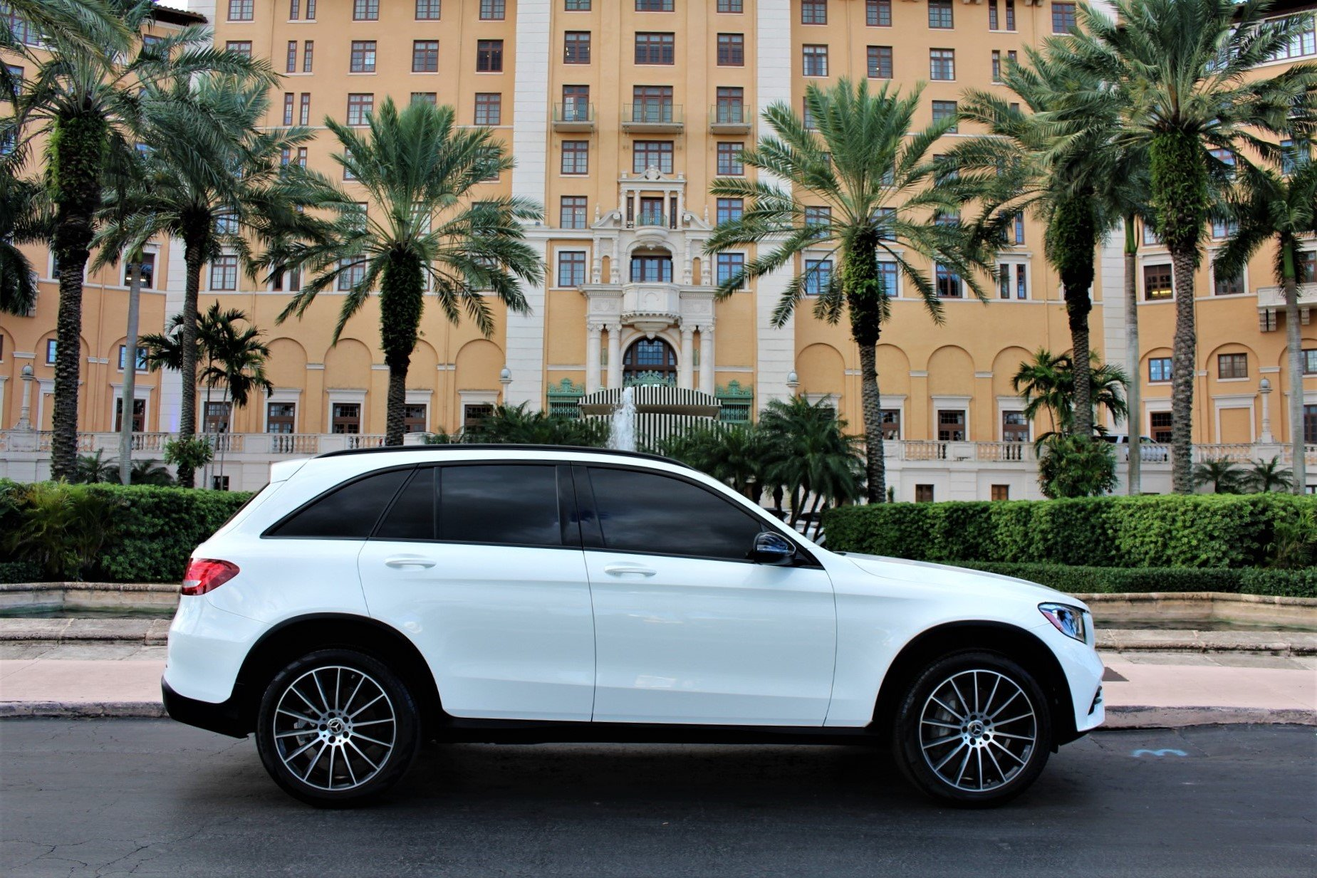 Used 2019 Mercedes-Benz GLC GLC 300 for sale $36,850 at The Gables Sports Cars in Miami FL 33146 1