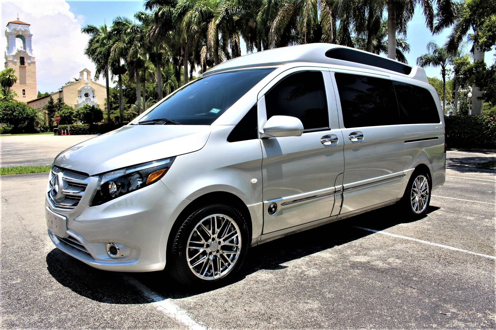 Used 2016 Mercedes-Benz Metris Passenger Custom for sale Sold at The Gables Sports Cars in Miami FL 33146 3