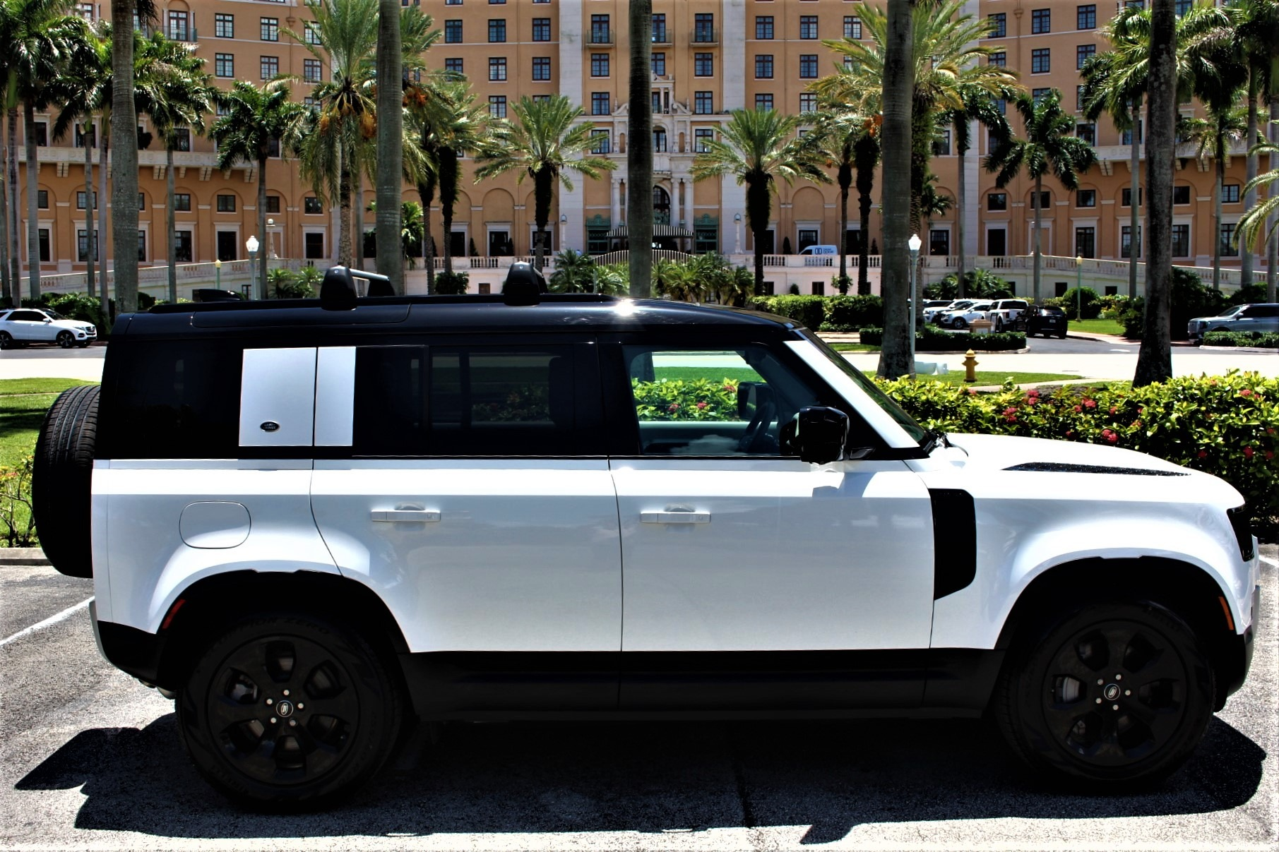 Used 2020 Land Rover Defender 110 HSE for sale Sold at The Gables Sports Cars in Miami FL 33146 3