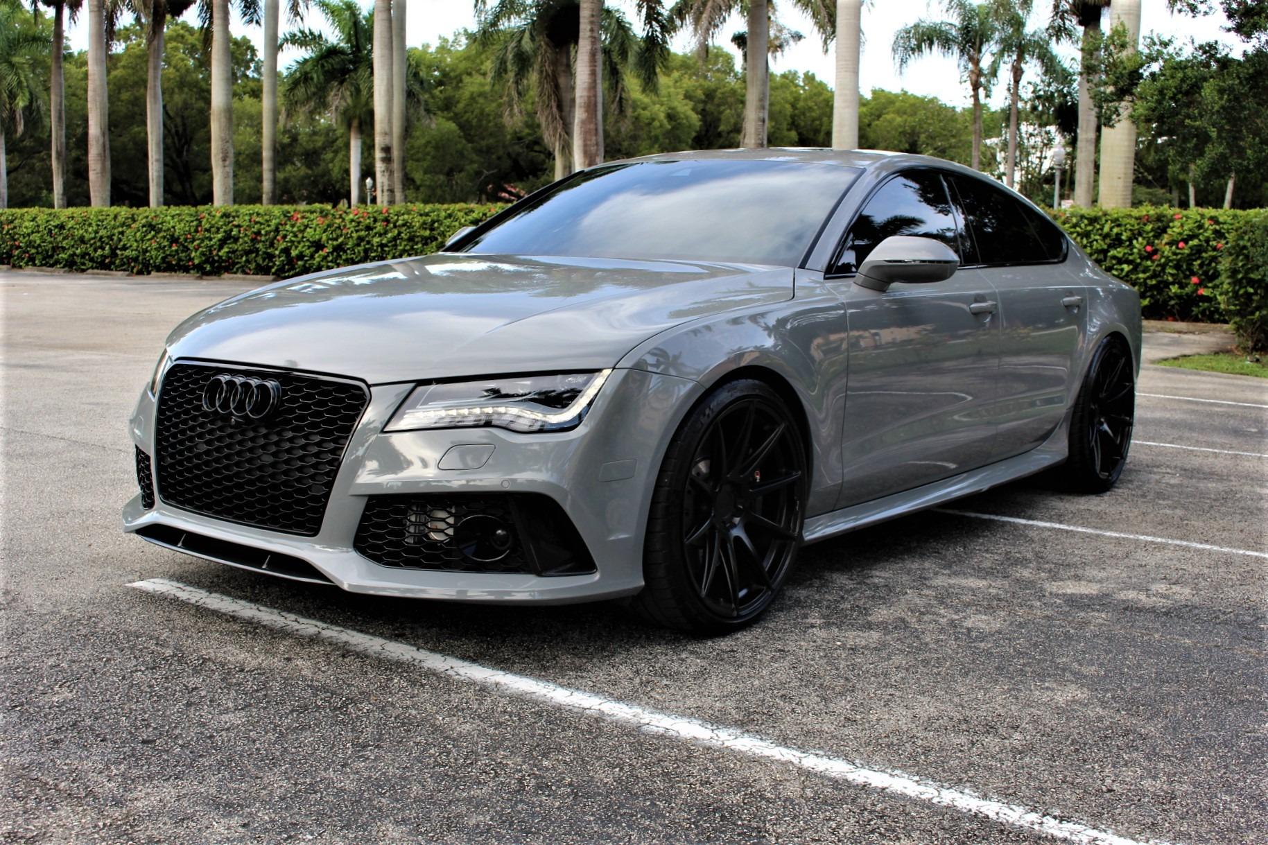 Used 2015 Audi RS 7 4.0T quattro Prestige for sale Sold at The Gables Sports Cars in Miami FL 33146 4