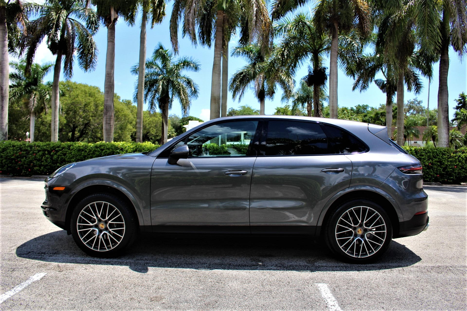 Used 2019 Porsche Cayenne for sale Sold at The Gables Sports Cars in Miami FL 33146 3
