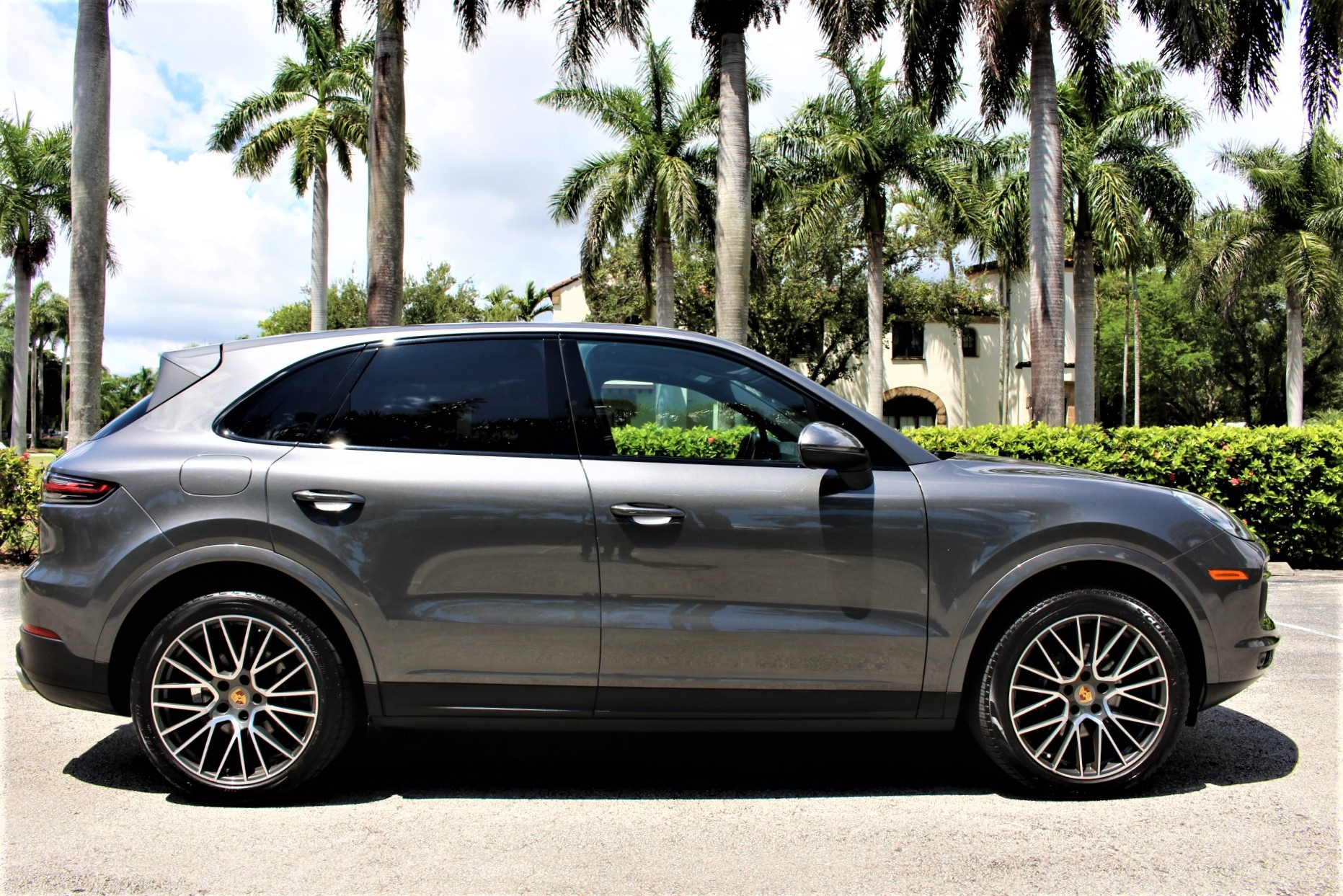 Used 2019 Porsche Cayenne for sale Sold at The Gables Sports Cars in Miami FL 33146 1