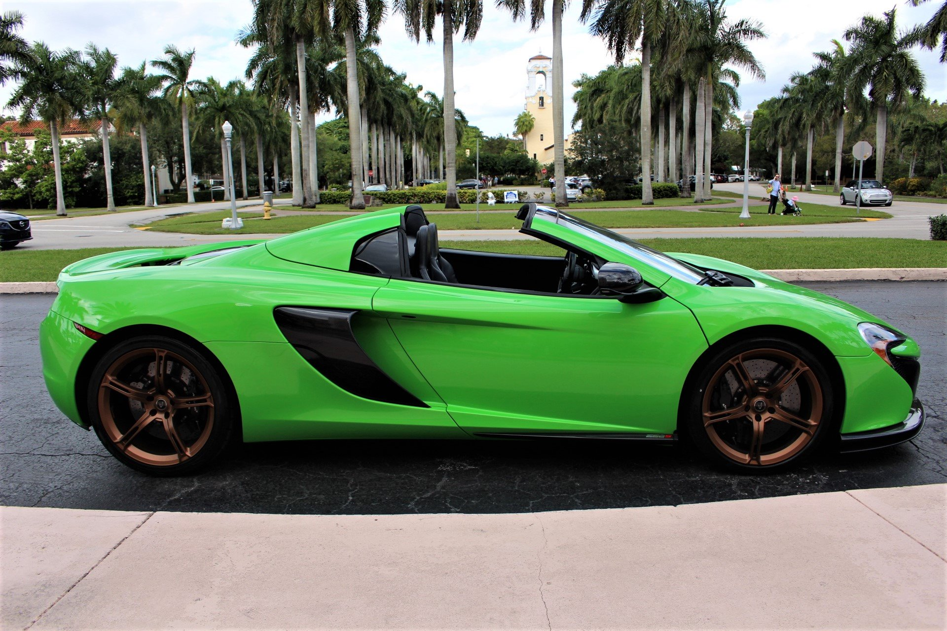 Used 2016 McLaren 650S Spider for sale $146,850 at The Gables Sports Cars in Miami FL 33146 3
