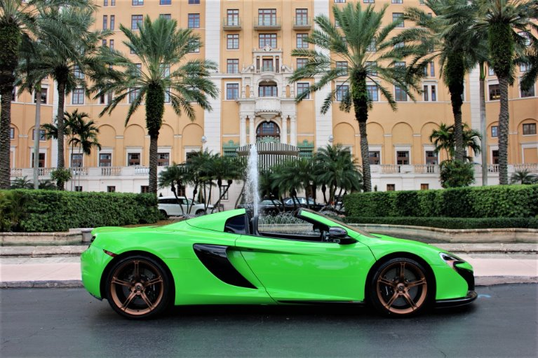 Used 2016 McLaren 650S Spider for sale $146,850 at The Gables Sports Cars in Miami FL