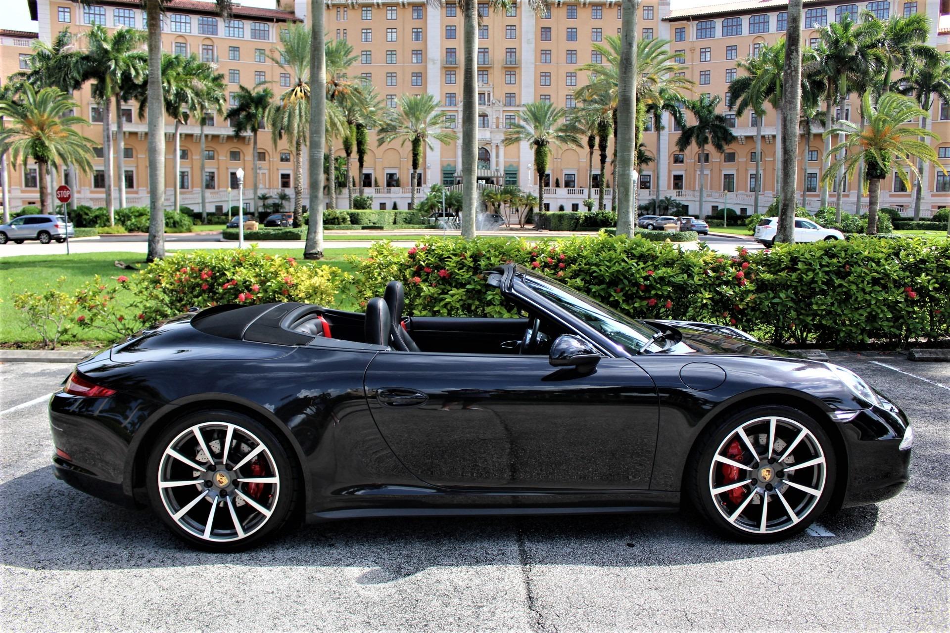 Used 2013 Porsche 911 Carrera 4S for sale $88,850 at The Gables Sports Cars in Miami FL 33146 1