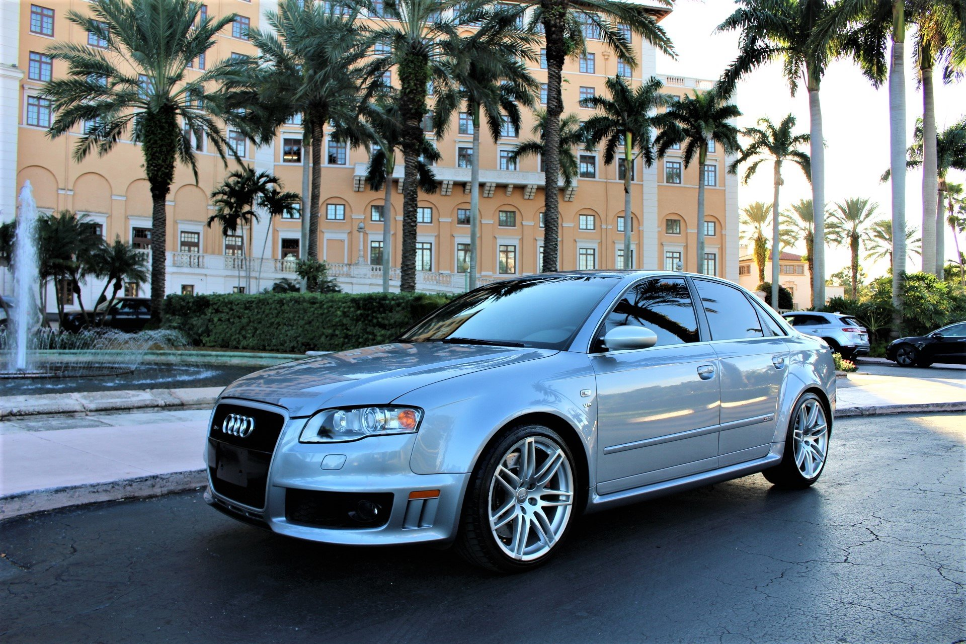 Used 2008 Audi RS 4 quattro for sale $39,850 at The Gables Sports Cars in Miami FL 33146 3