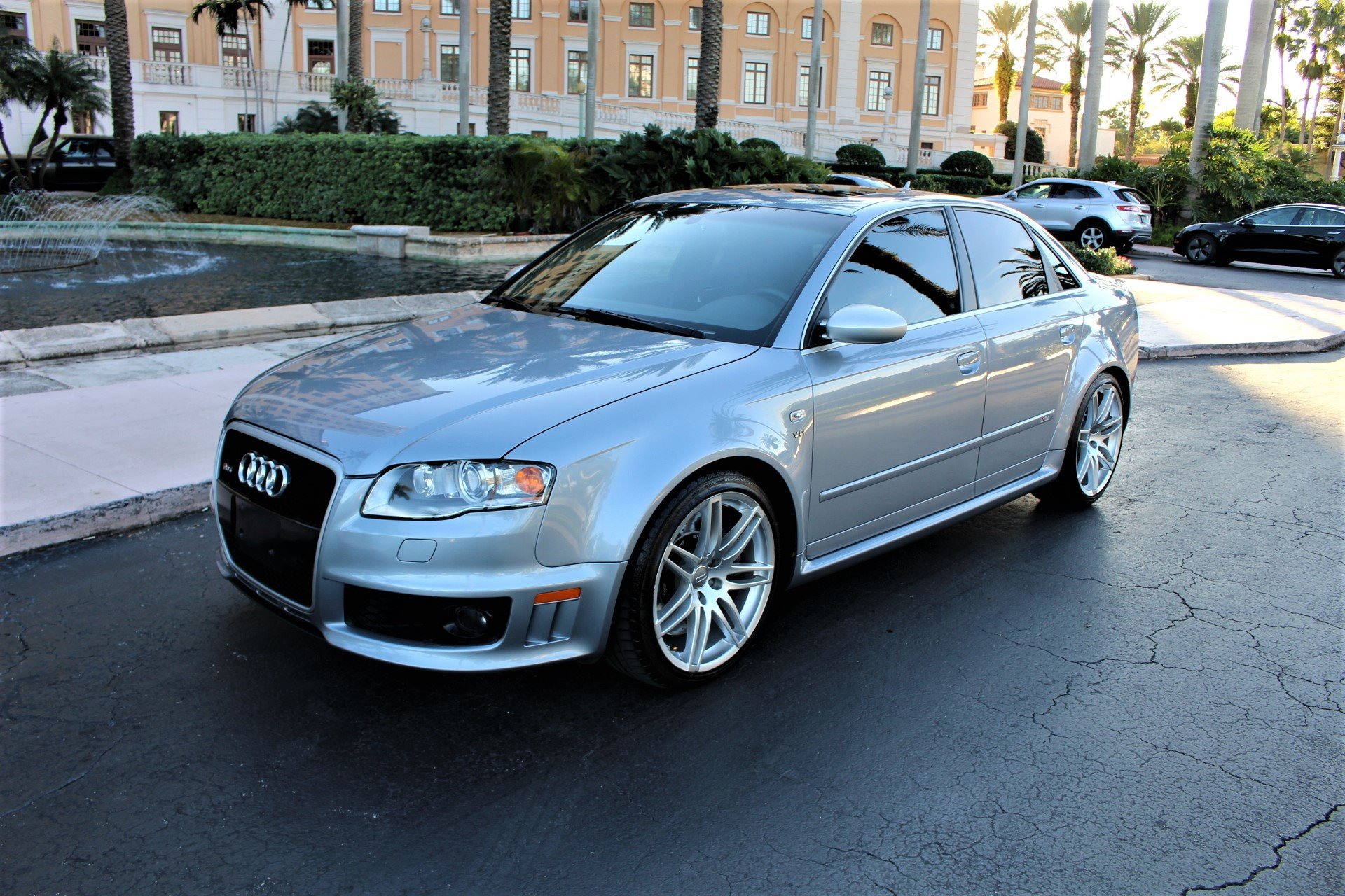 Used 2008 Audi RS 4 quattro for sale $39,850 at The Gables Sports Cars in Miami FL 33146 4