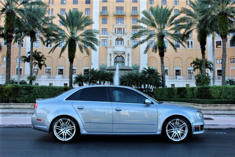 Used 2008 Audi RS 4 quattro for sale $39,850 at The Gables Sports Cars in Miami FL