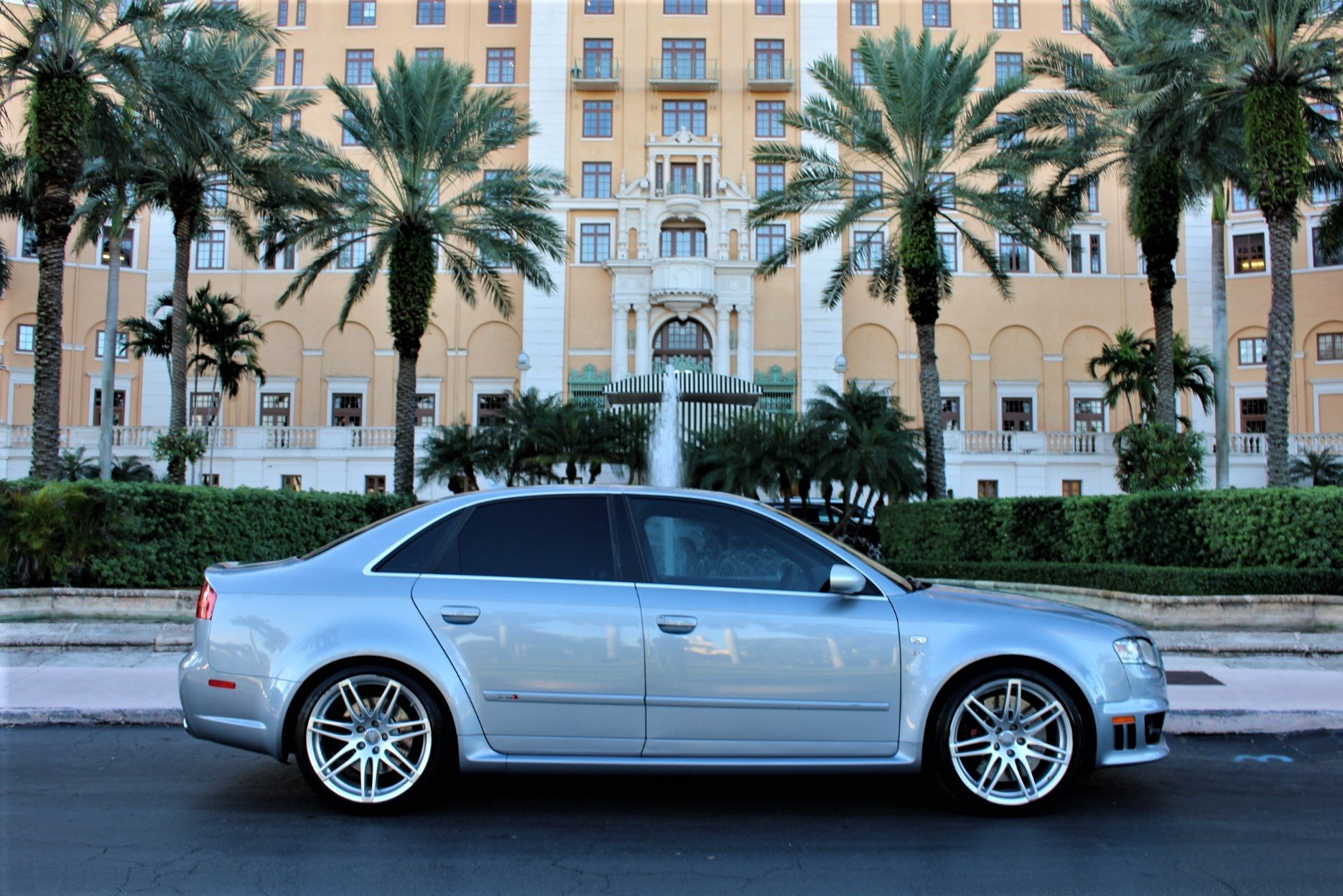 Used 2008 Audi RS 4 quattro for sale $39,850 at The Gables Sports Cars in Miami FL 33146 1