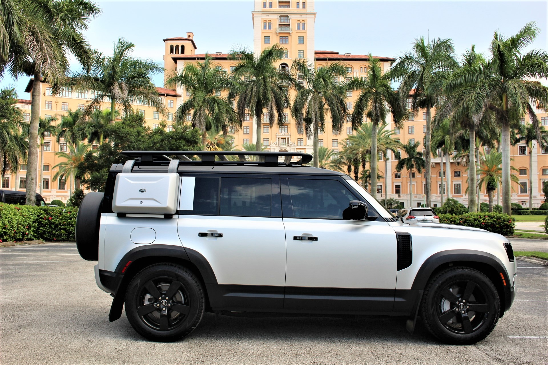 Used 2020 Land Rover Defender 110 HSE for sale Sold at The Gables Sports Cars in Miami FL 33146 1