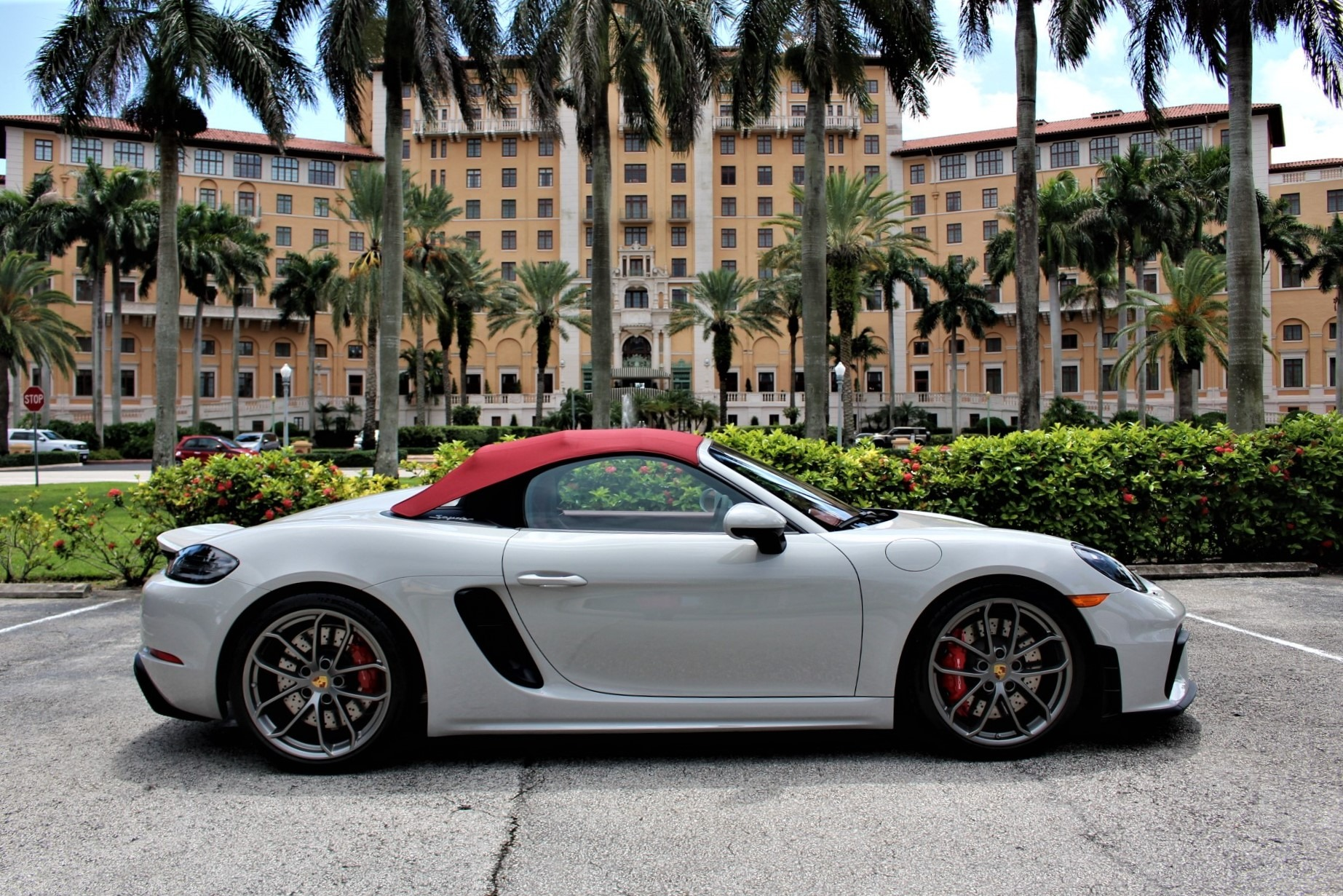 Used 2021 Porsche 718 Boxster Spyder for sale Sold at The Gables Sports Cars in Miami FL 33146 2