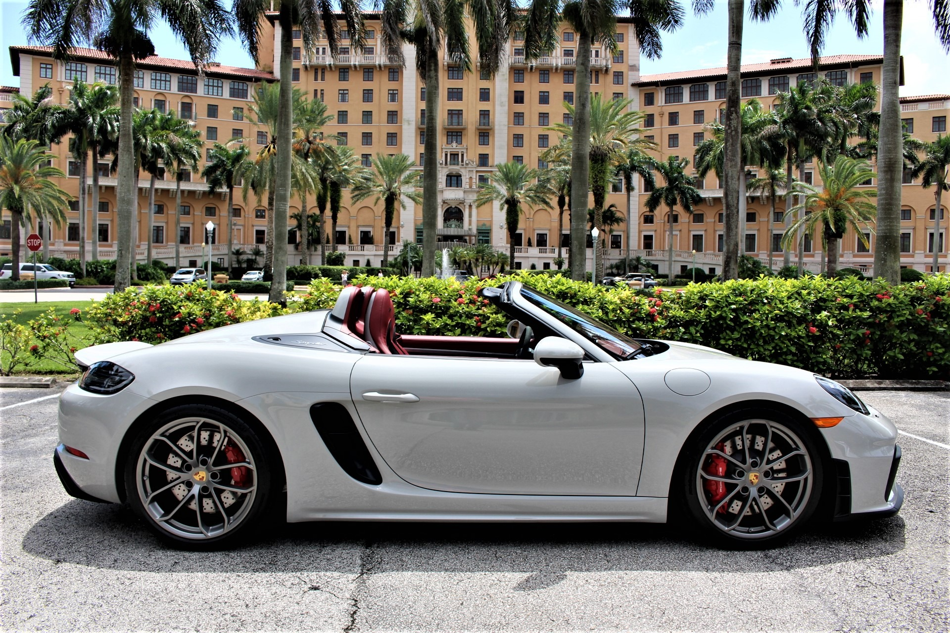 Used 2021 Porsche 718 Boxster Spyder for sale Sold at The Gables Sports Cars in Miami FL 33146 1