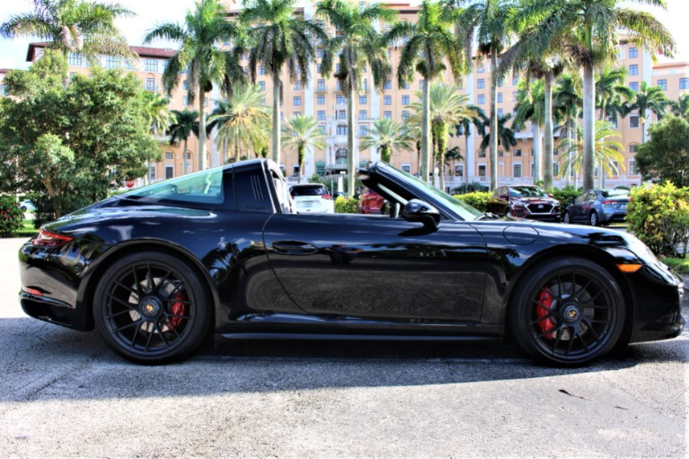 Used 2018 Porsche 911 Targa 4 GTS for sale $149,850 at The Gables Sports Cars in Miami FL