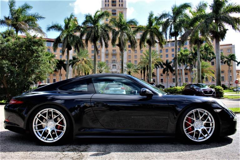 Used 2013 Porsche 911 Carrera 4S for sale $93,850 at The Gables Sports Cars in Miami FL