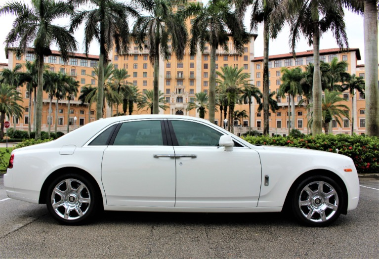 Used 2012 Rolls-Royce Ghost for sale $138,850 at The Gables Sports Cars in Miami FL