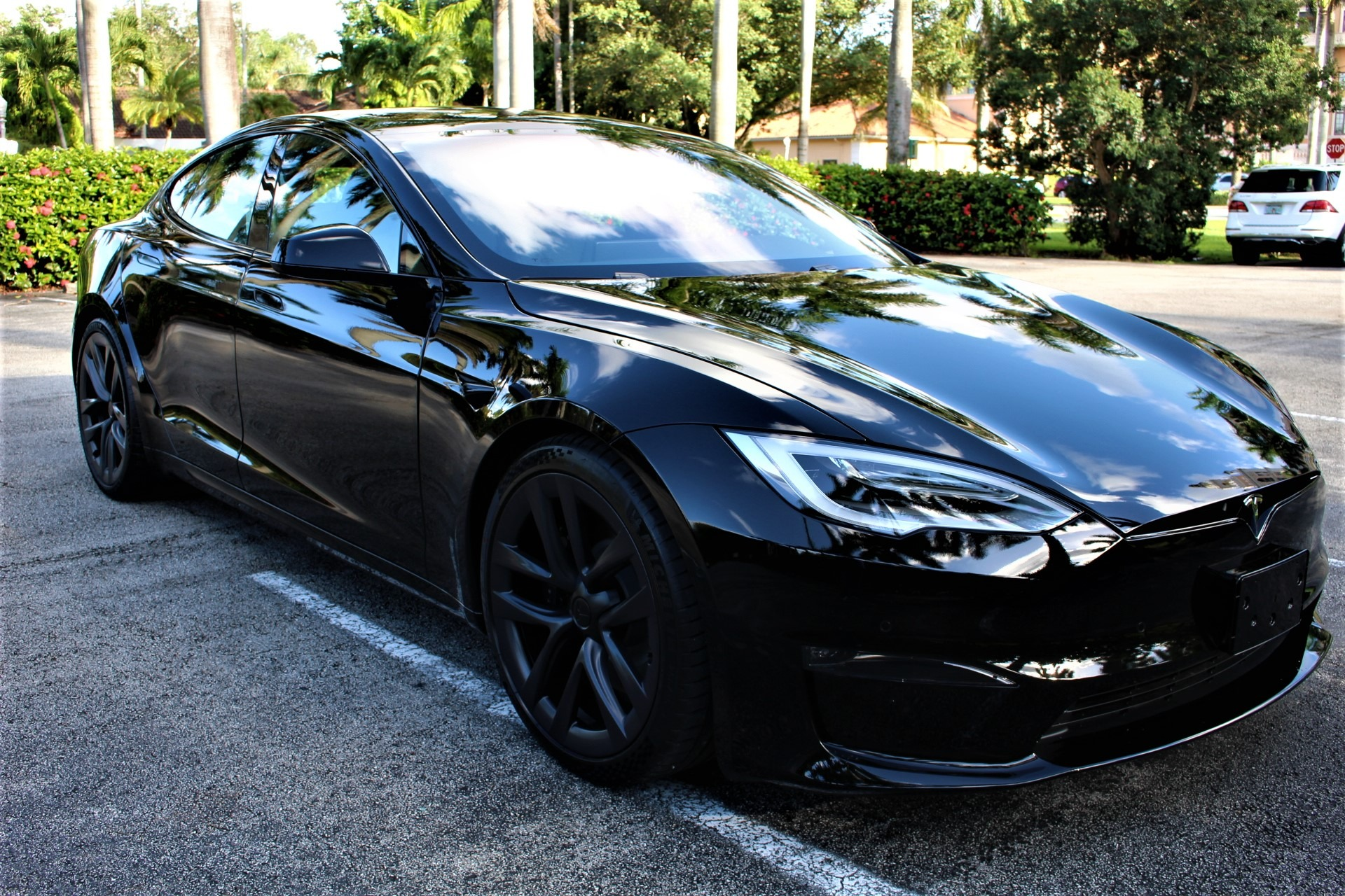 Used 2021 Tesla Model S Plaid for sale $148,850 at The Gables Sports Cars in Miami FL 33146 3