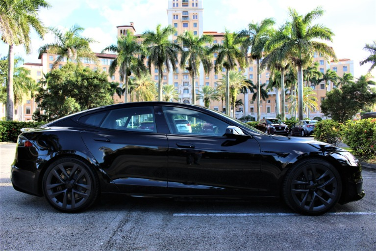 Used 2021 Tesla Model S Plaid for sale $148,850 at The Gables Sports Cars in Miami FL