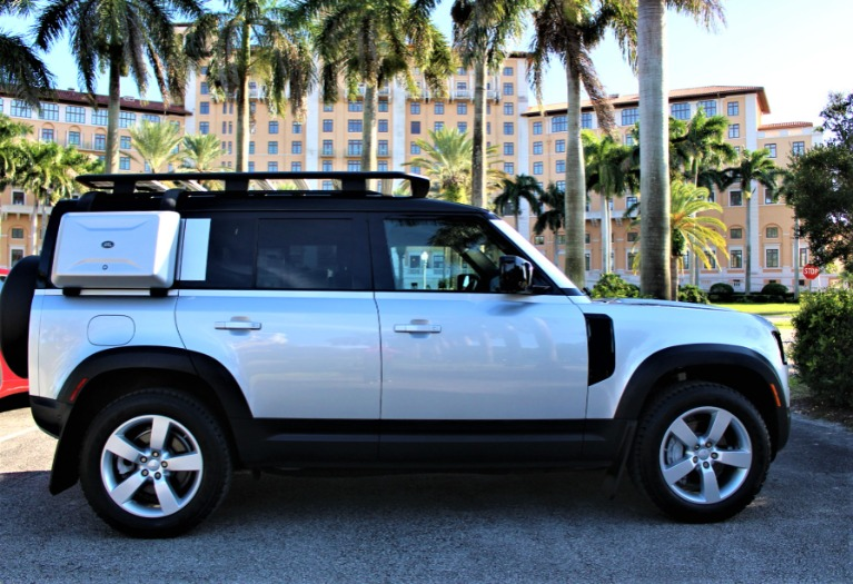 Used 2020 Land Rover Defender 110 HSE FIRST EDITION for sale $93,850 at The Gables Sports Cars in Miami FL